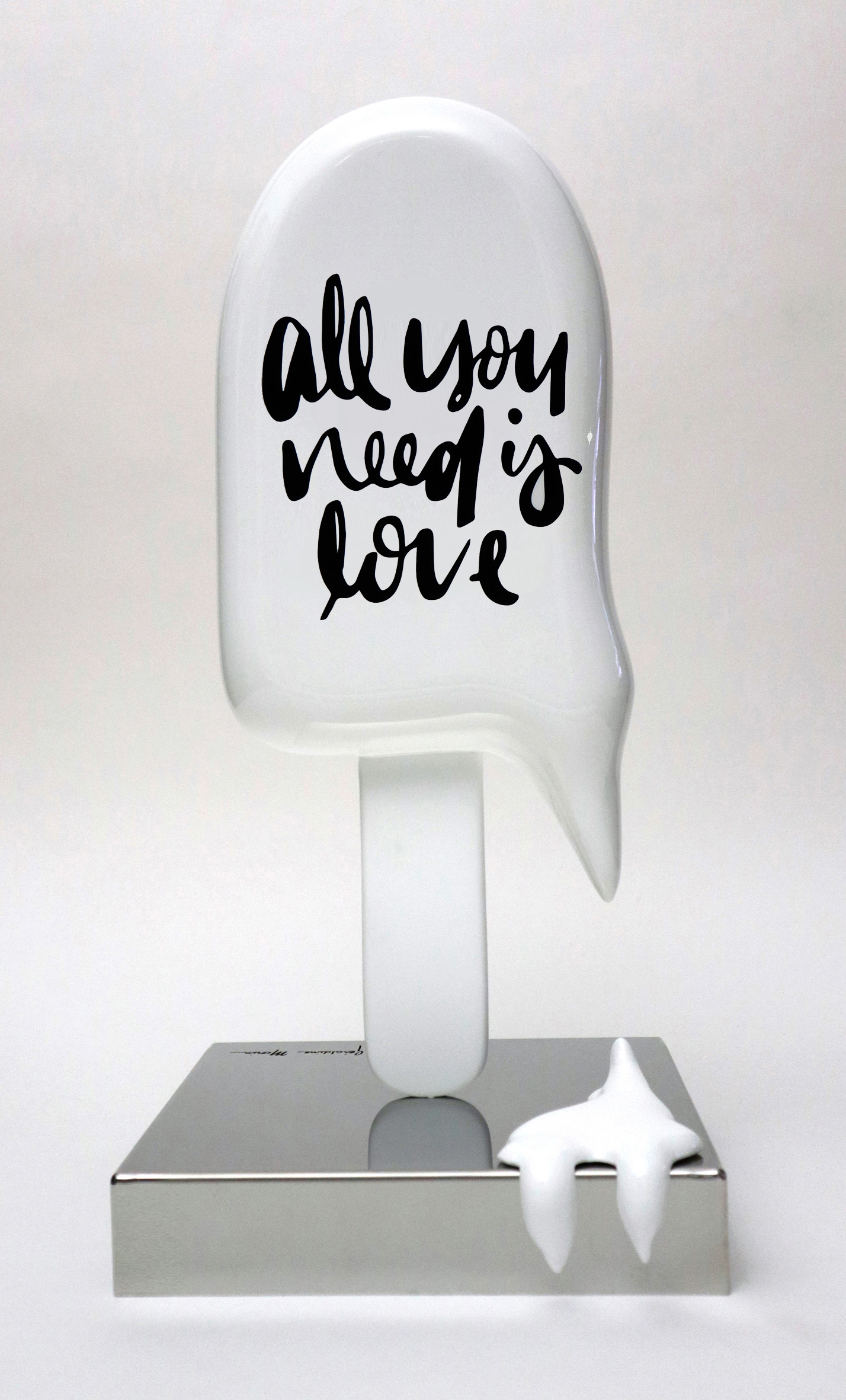 "Géraldine Morin - Petite Glace ""All you need is love"" , 8888-011-041"