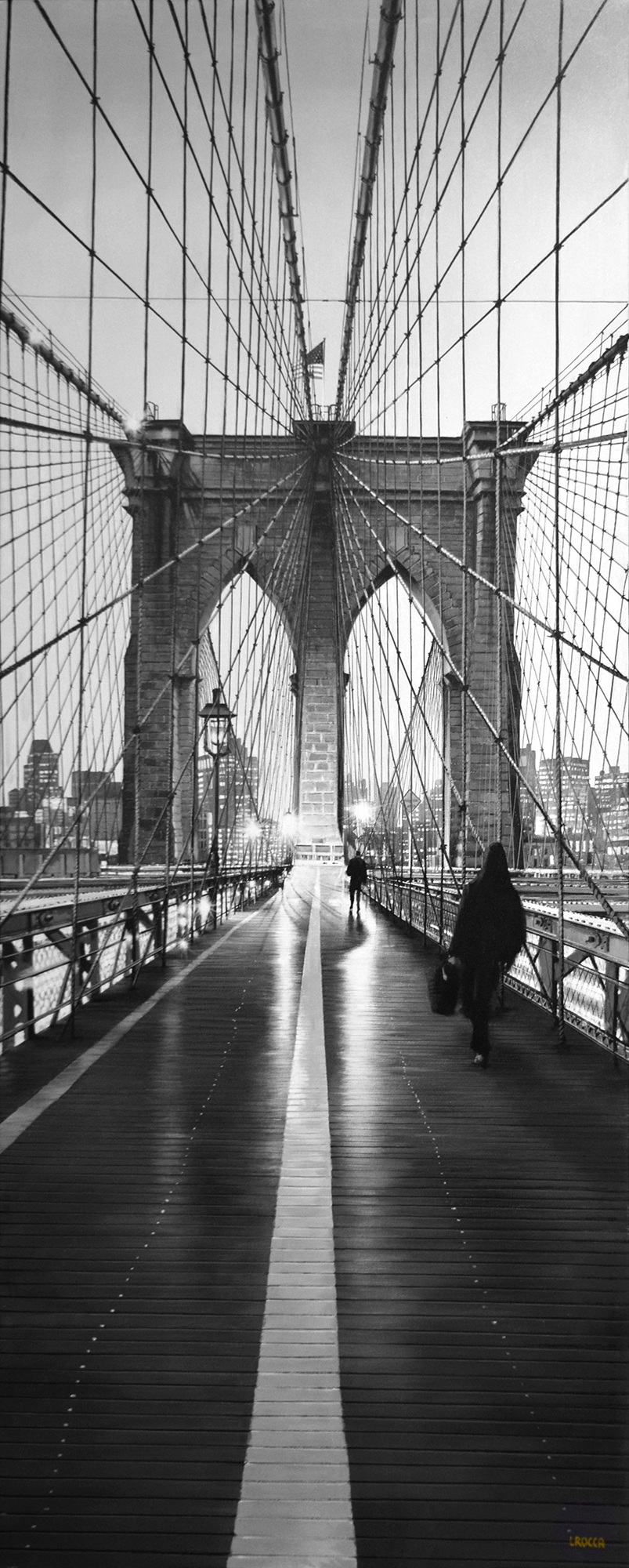 Luigi Rocca - Walking through the Bridge , 6855-006-793
