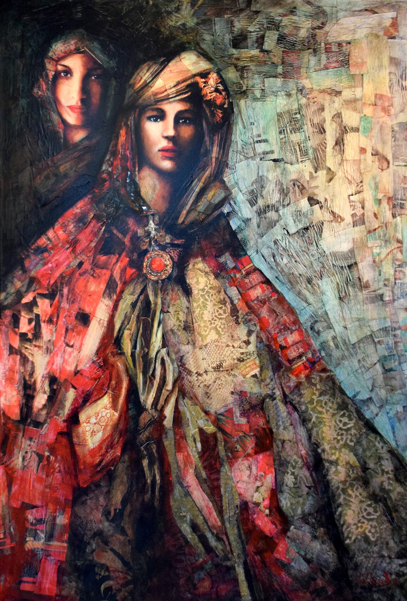 Carl Konst - Damenportrait , 6534-012-136