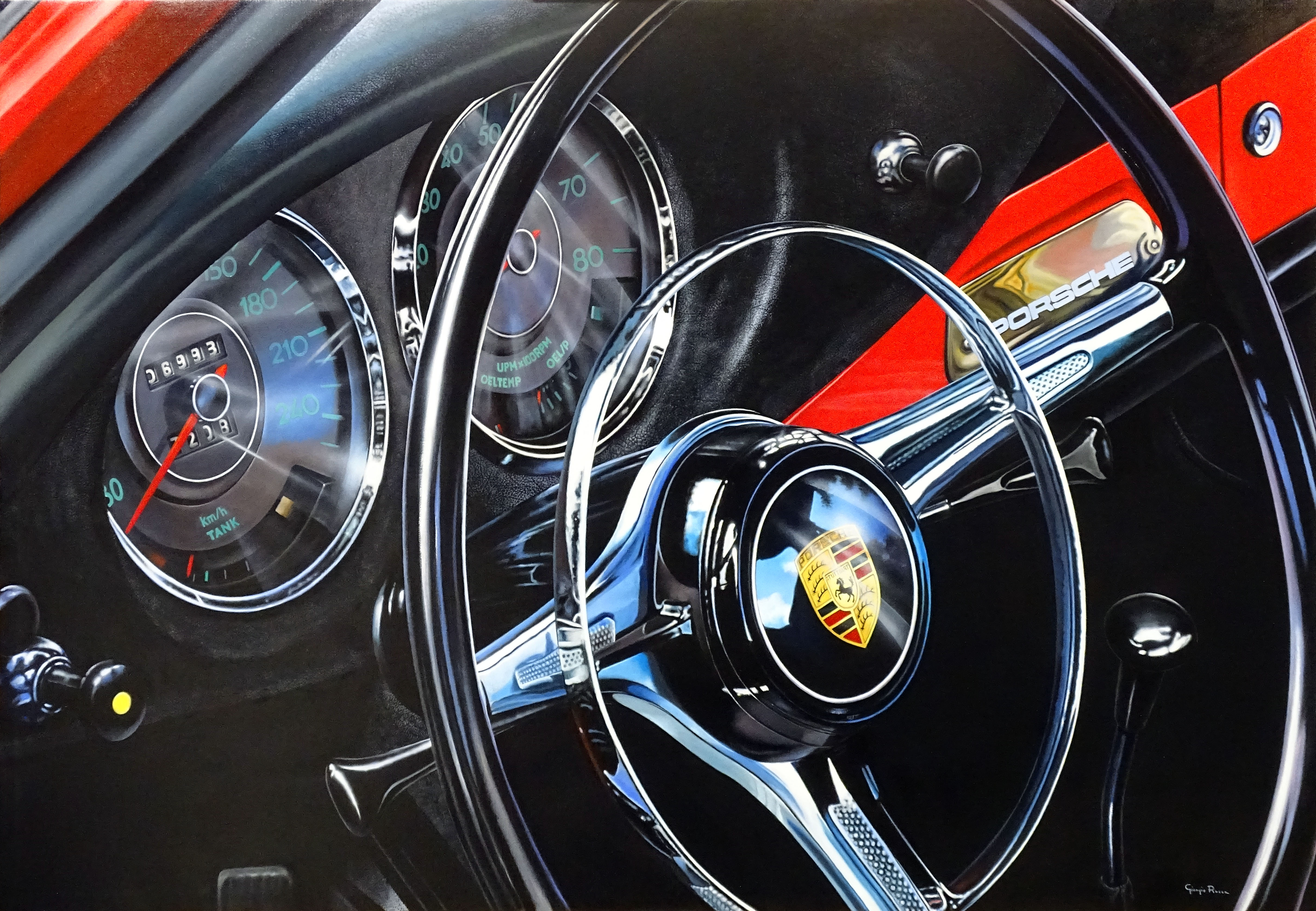 Giorgio Rocca - Porsche Interiors , 7092-006-061