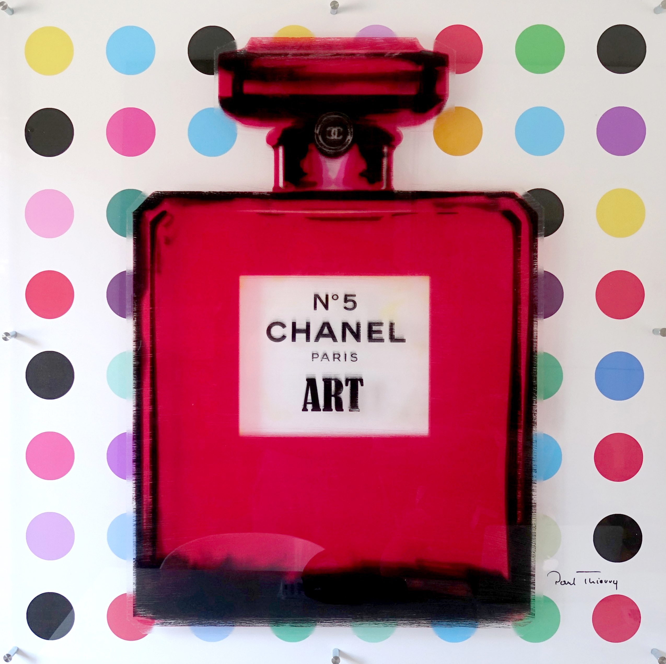 Paul Thierry - Chanel Art (Rot) , 6596-008-030