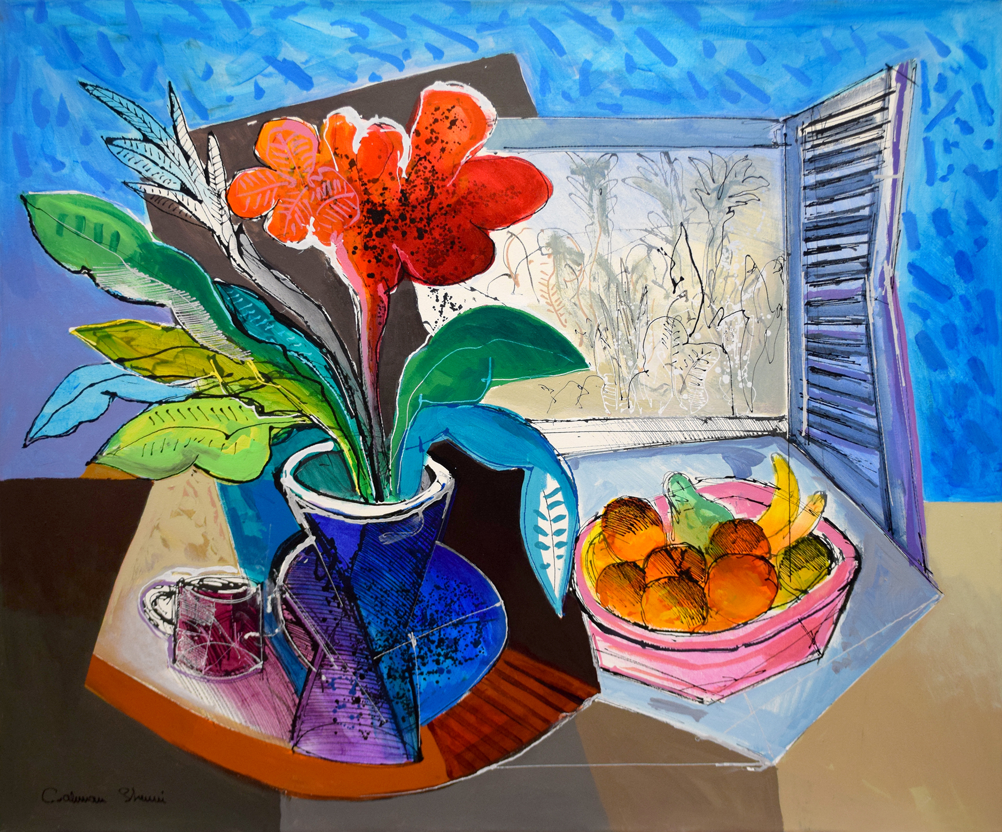 Calman Shemi - Still life in summer , 5507-006-001