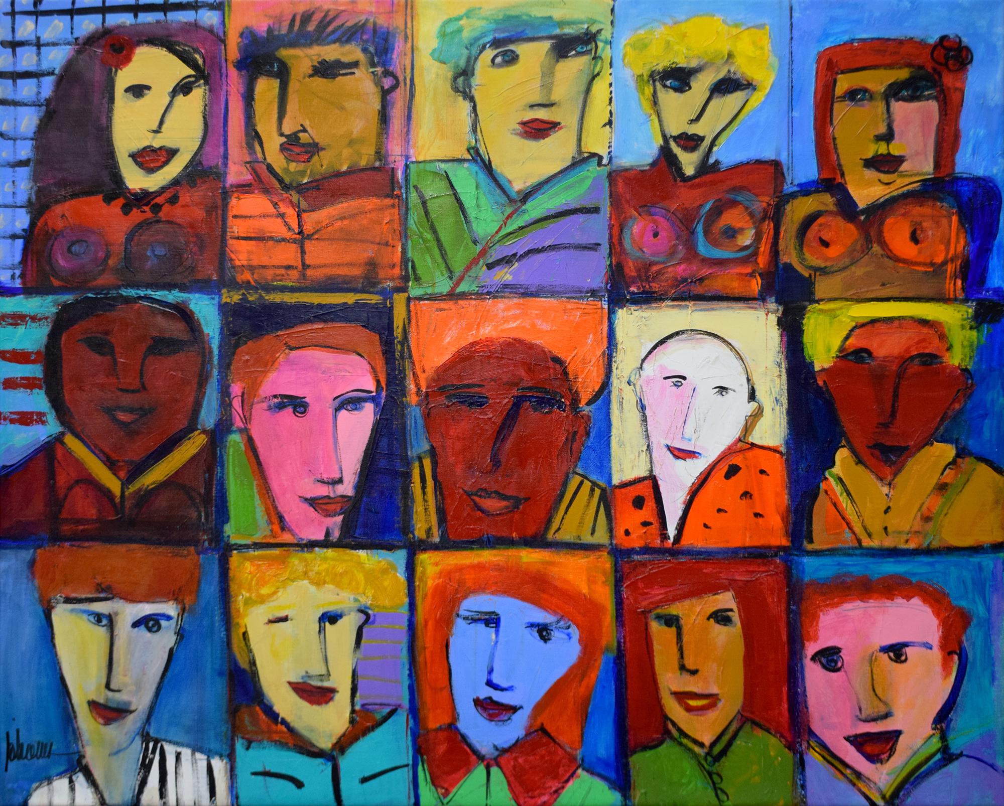 Johanan Herson - Faces , 0699-006-015
