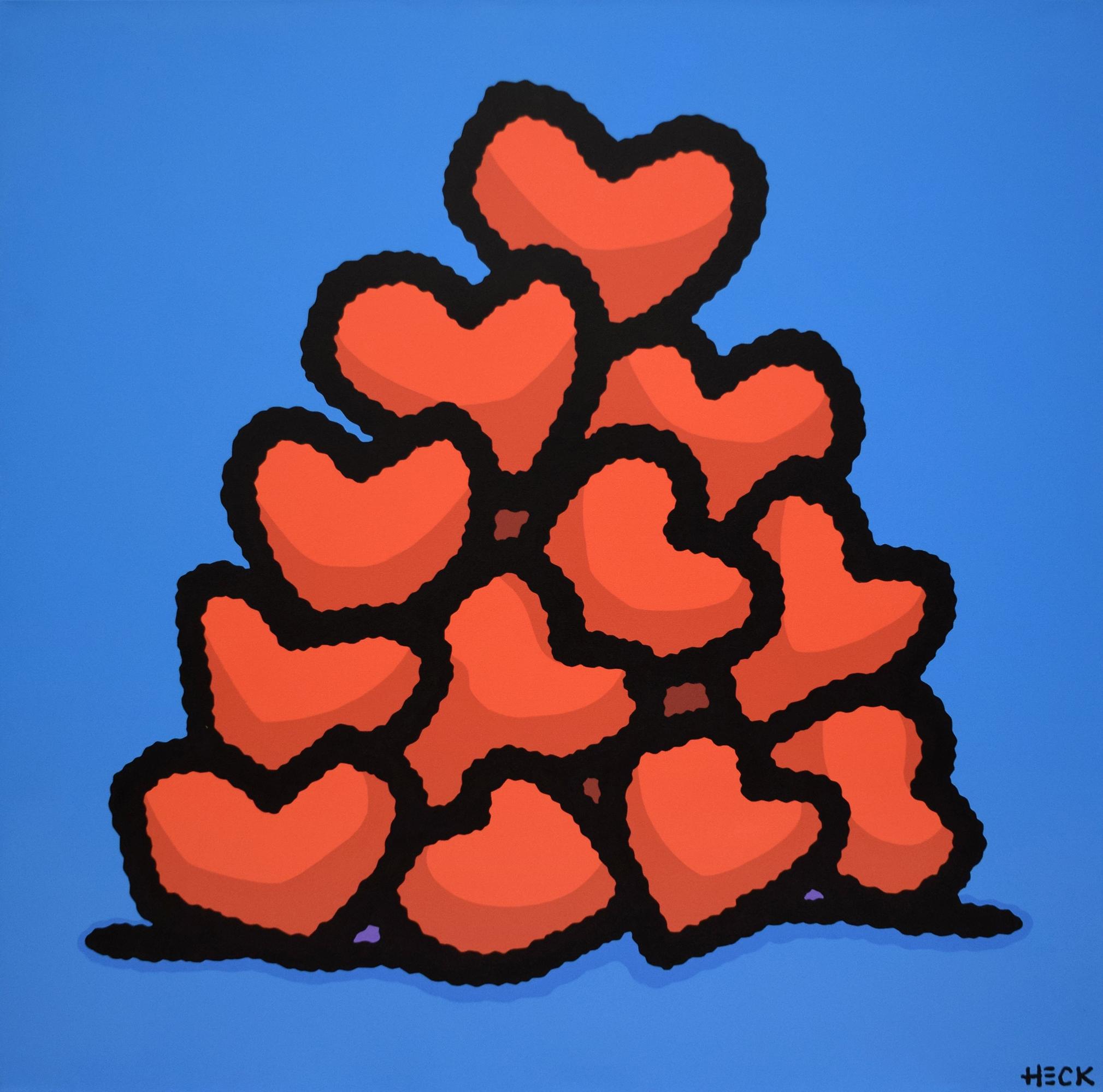 Ed Heck - Heart Pile , 6575-012-034