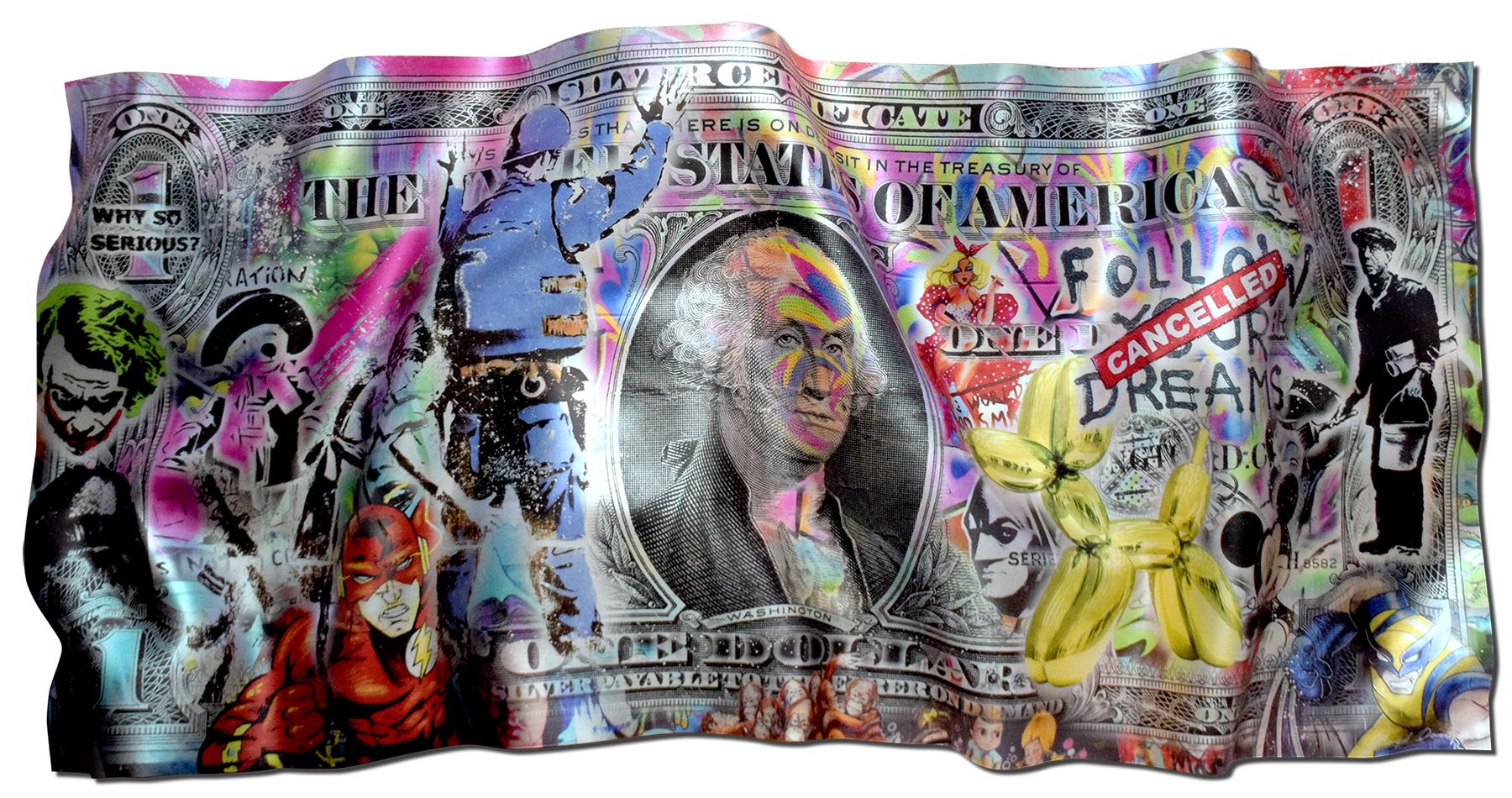 Floyd Douglas - Street Art Dollar , 0656-012-046