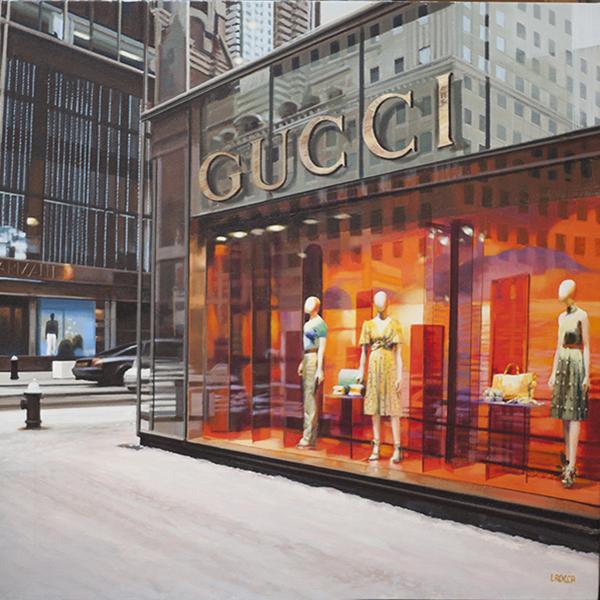 Luigi Rocca - Yellow Gucci in NY , 6855-006-319