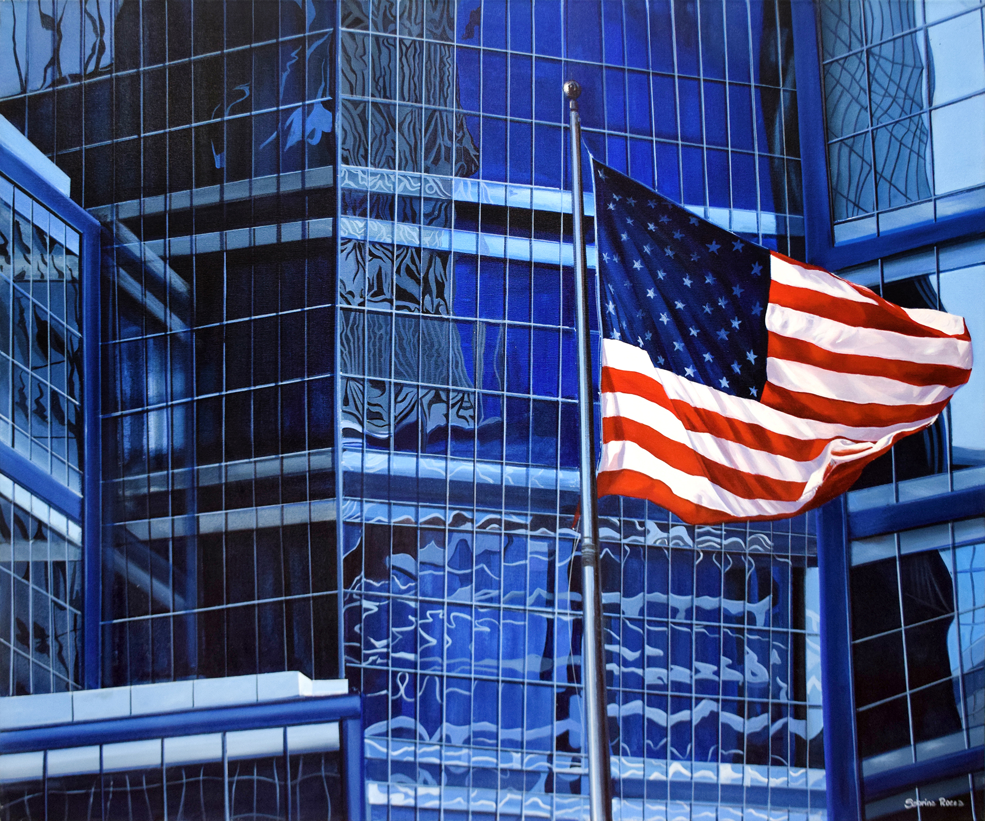 Sabrina Rocca - U.S. Flags , 7056-006-006