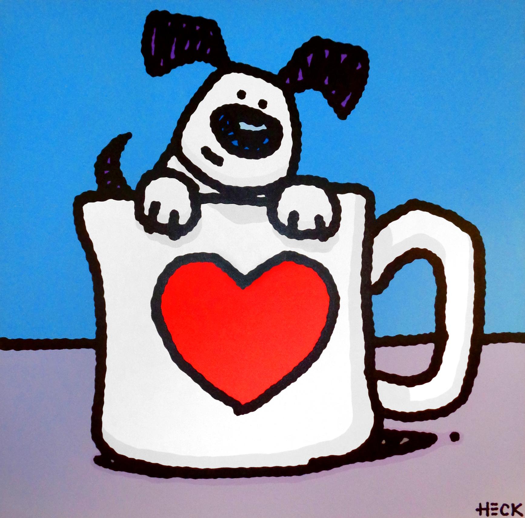 Ed Heck - Puppy Mug , 6575-006-229