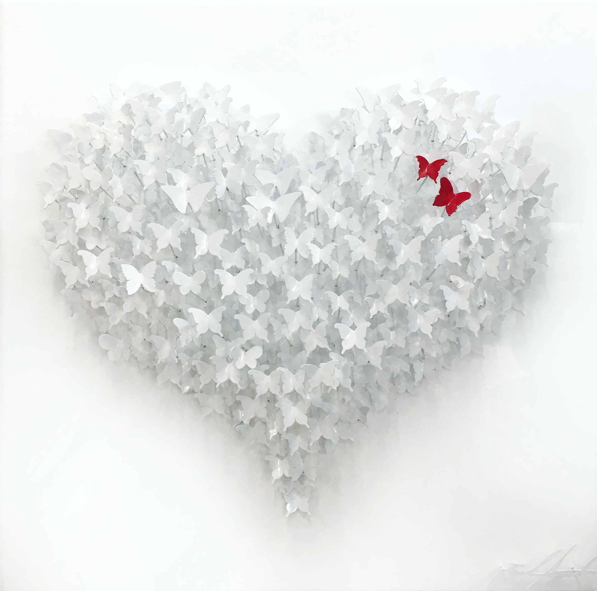 Joel Amit - Flying Love (White & Red) , 6665-012-055