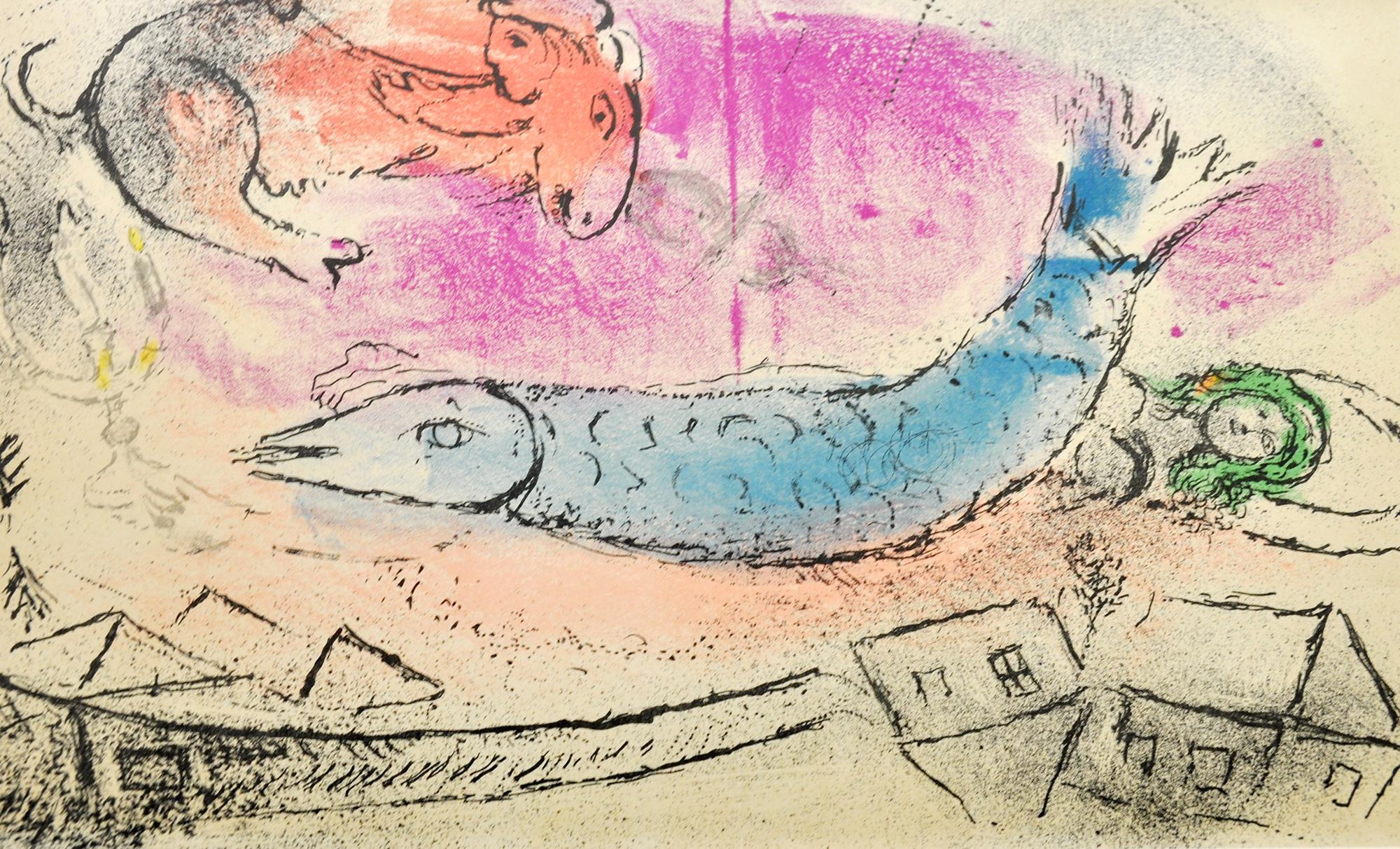 Marc Chagall - Le poisson bleu , 0610-008-466