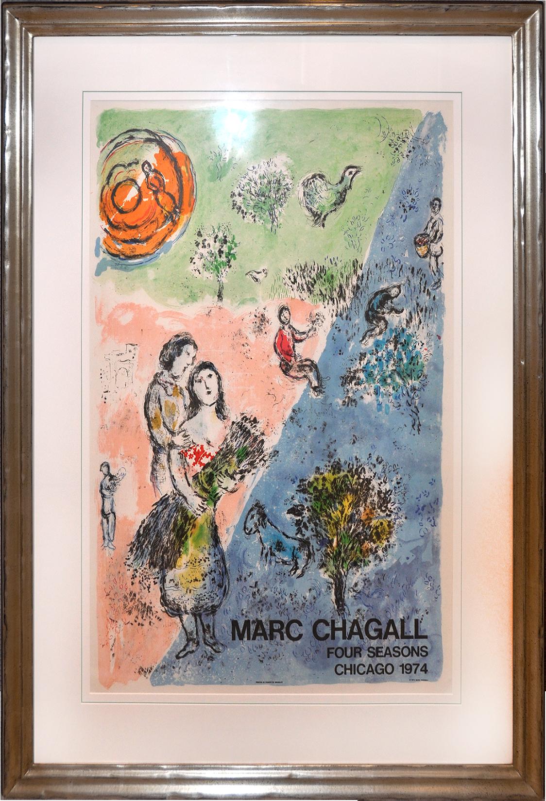 Marc Chagall - Die vier Jahreszeiten , 0610-008-392