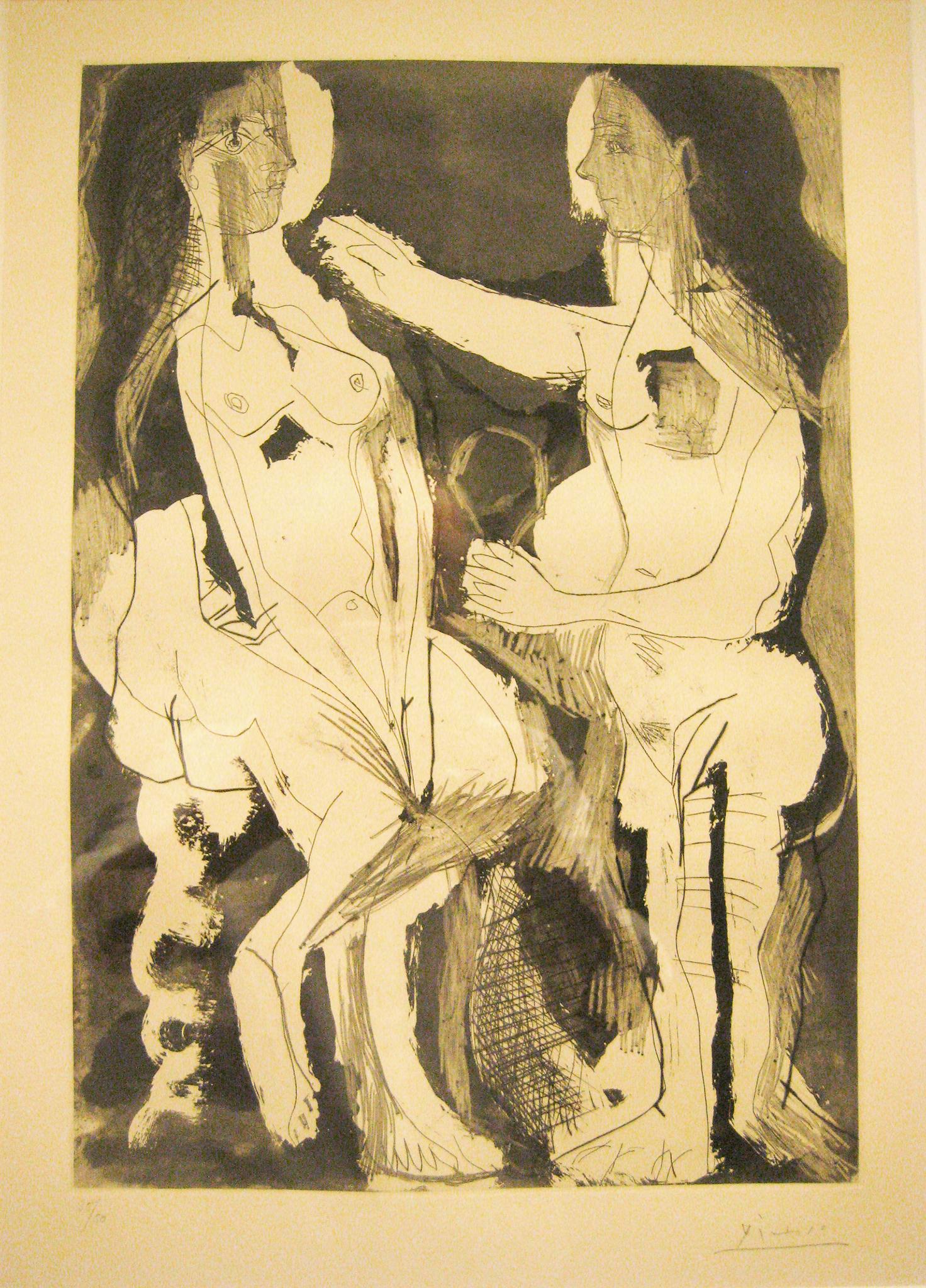Pablo Picasso - Femmes au leur toilette , 0613-008-122