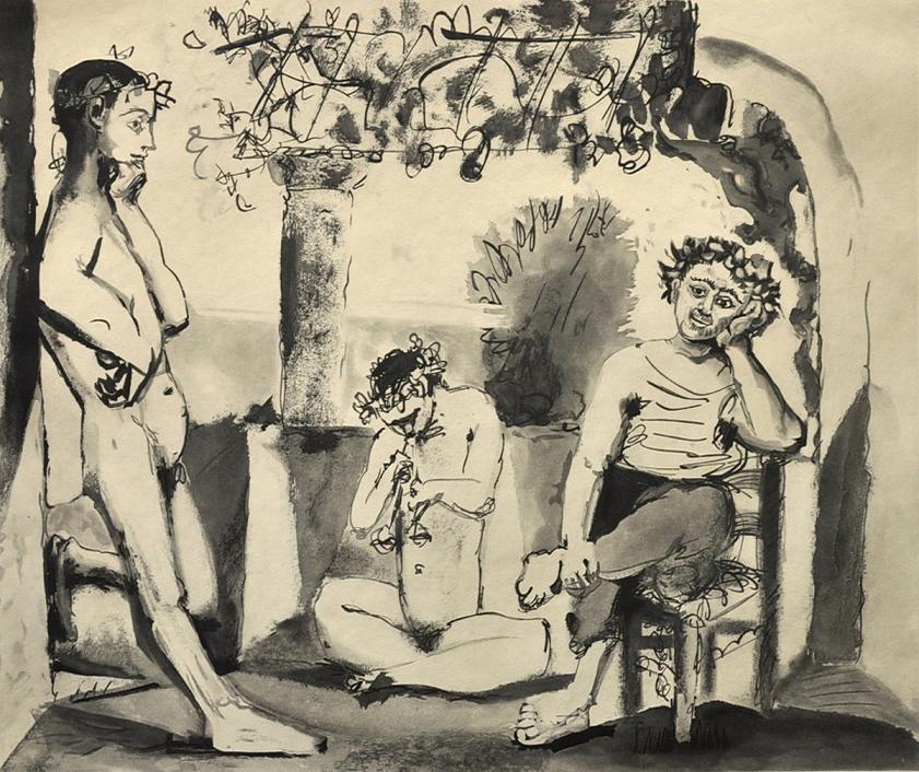 Pablo Picasso - Bacchanale , 0613-008-135