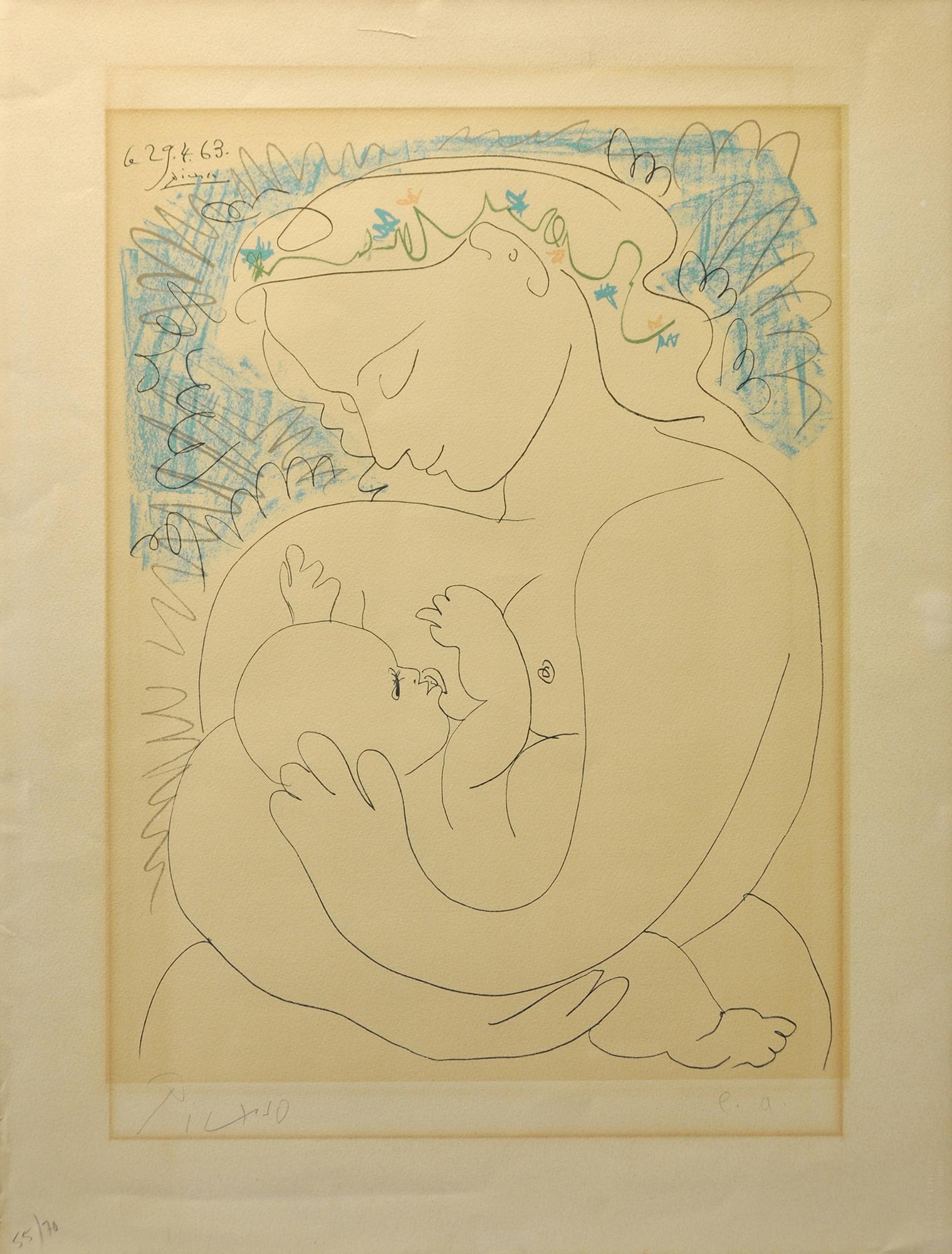 Pablo Picasso - Maternité , 0613-008-149