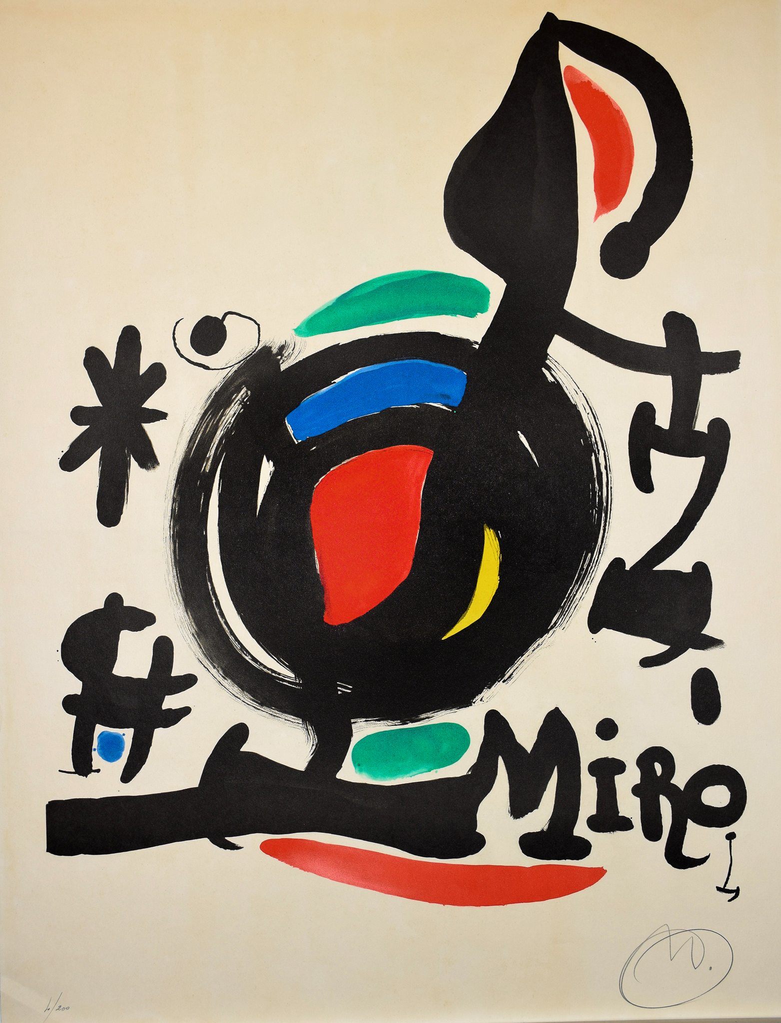 Joan Miró - Les esséncies de la terra (Plakat) , 0612-008-305