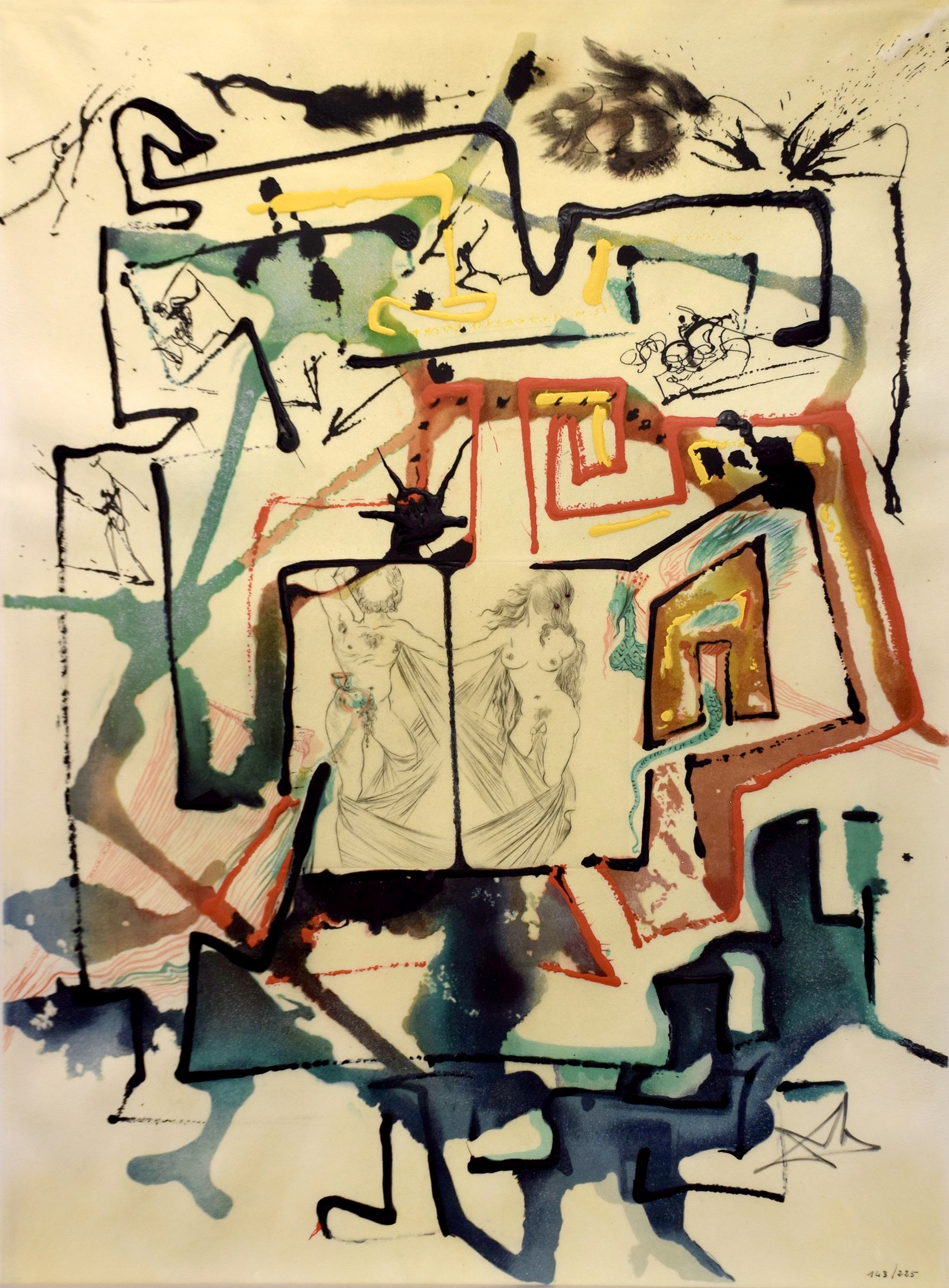 Salvador Dalí - Le Labyrinthe , 0611-008-544