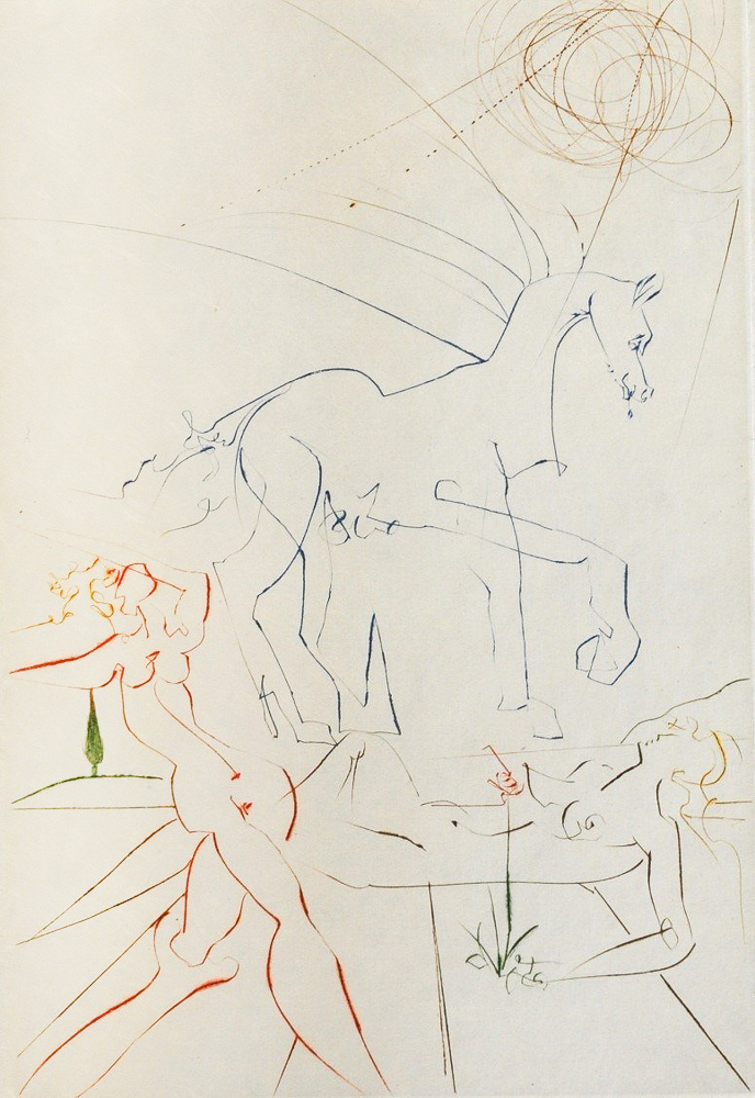 Salvador Dalí - La Parade , 0611-008-522