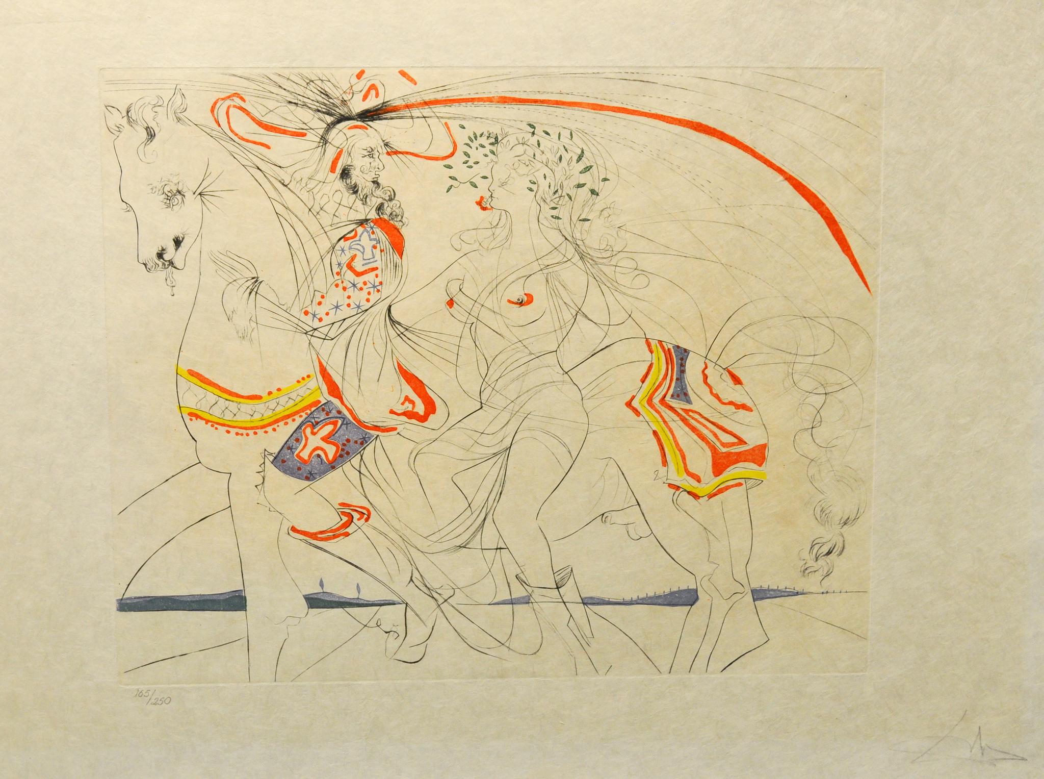Salvador Dalí - Diane de Poitiers , 0611-008-507