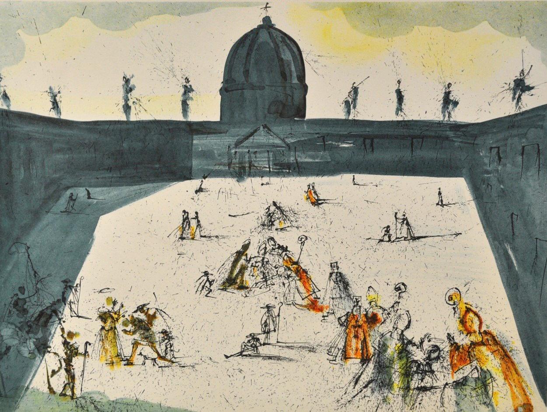 Salvador Dalí - Place St. Pierre , 0611-008-452
