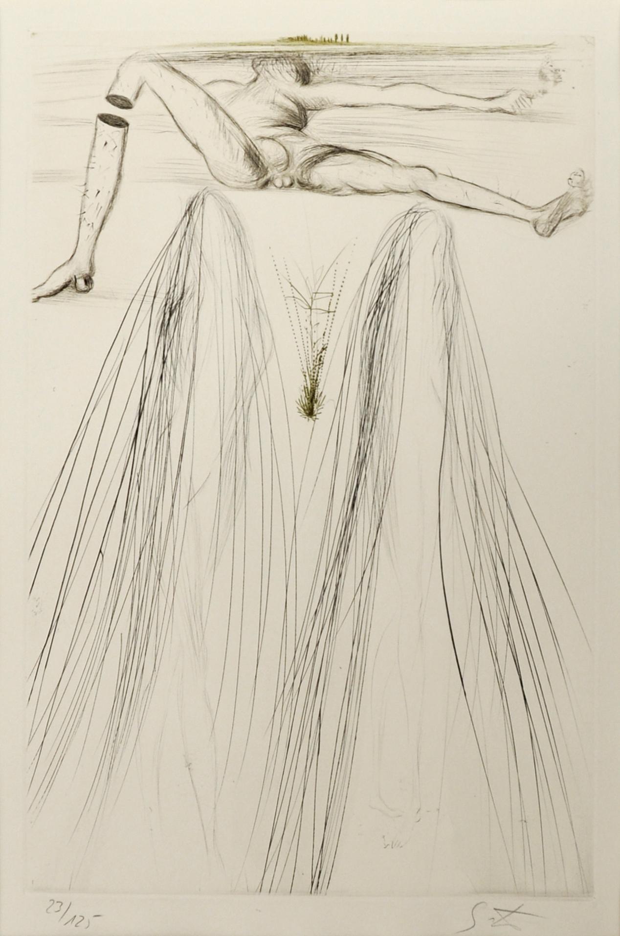 Salvador Dalí - Le Géant Béliagog aus Tristan & Isolde , 0611-008-349