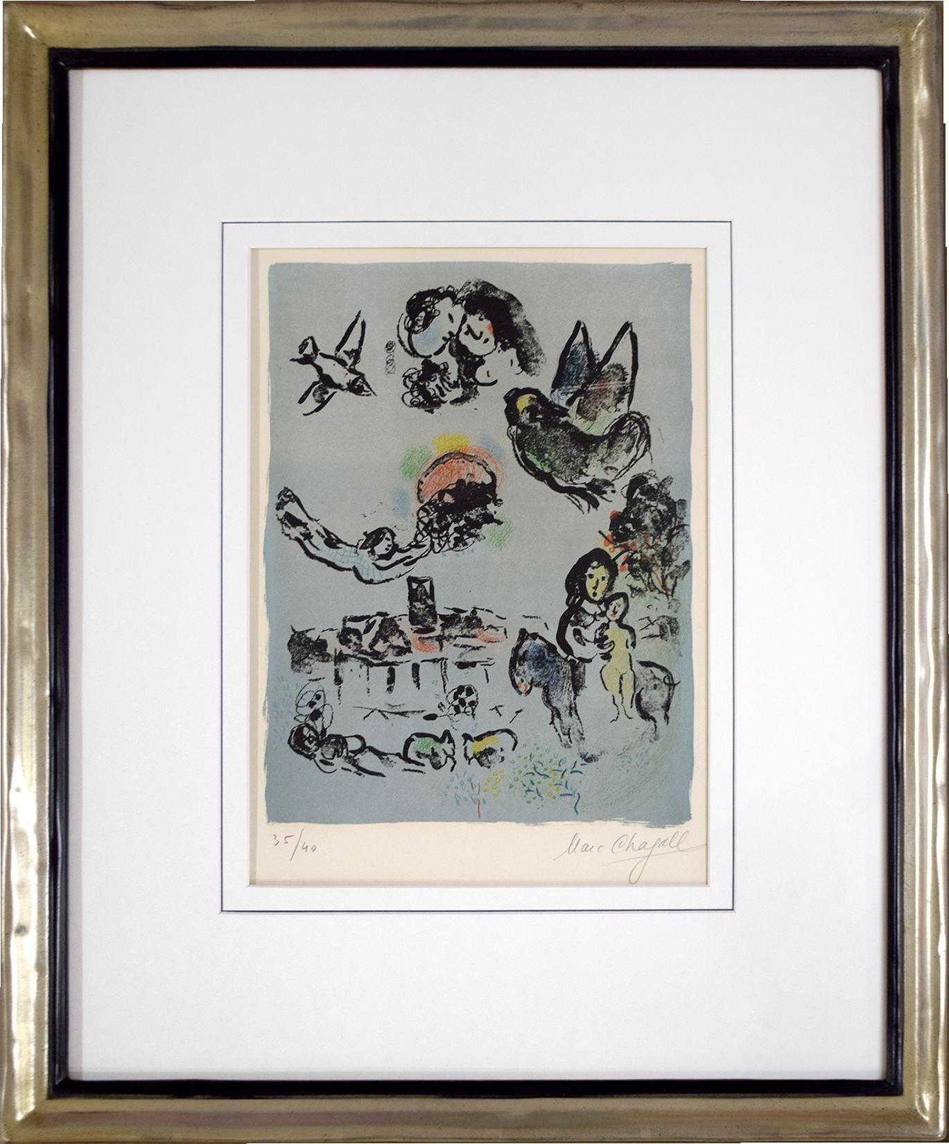 Marc Chagall - Nocturne à Vence , 0610-008-484