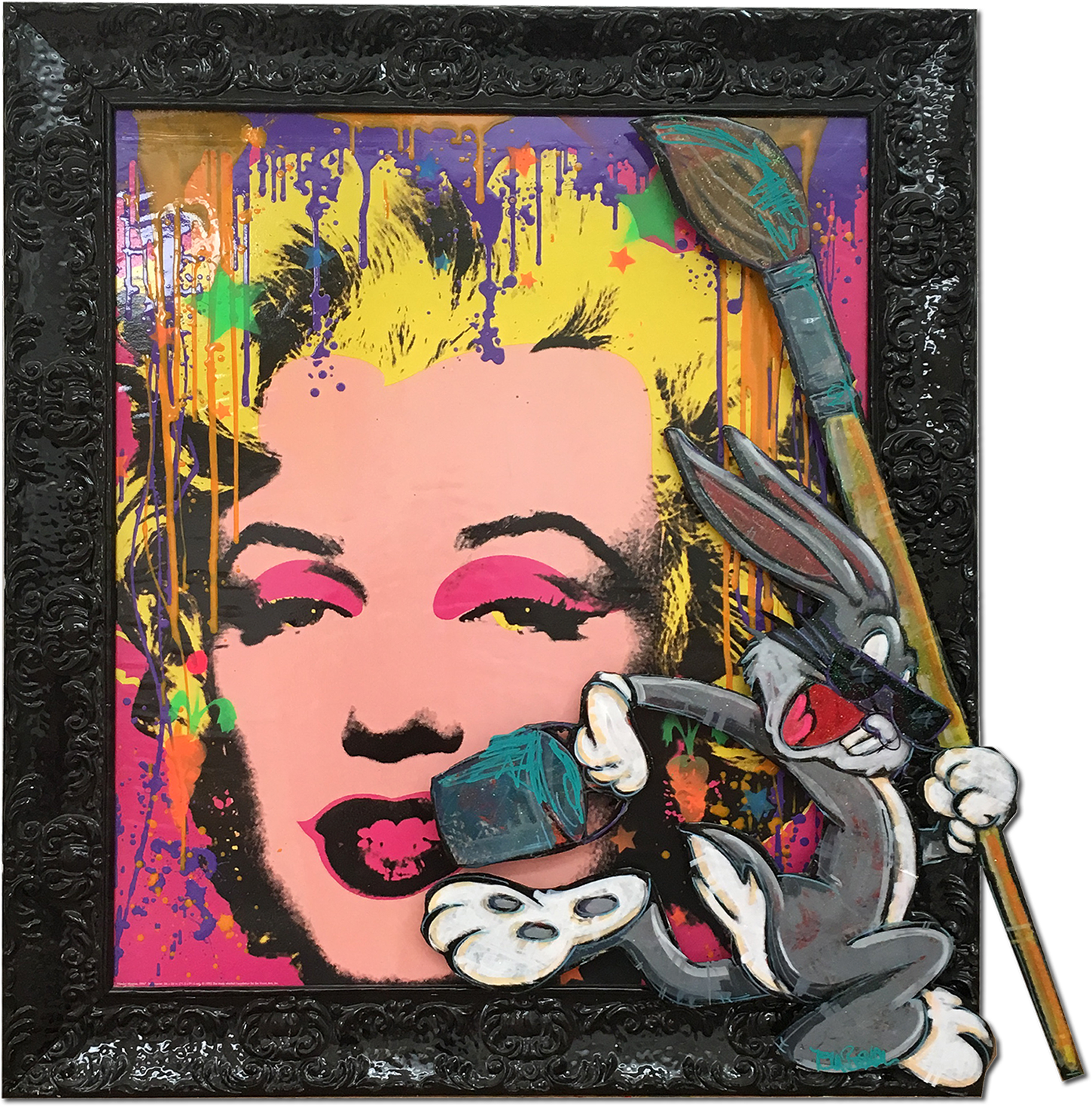 Tom Boston - Banksy visit Warhol , 8017-006-309