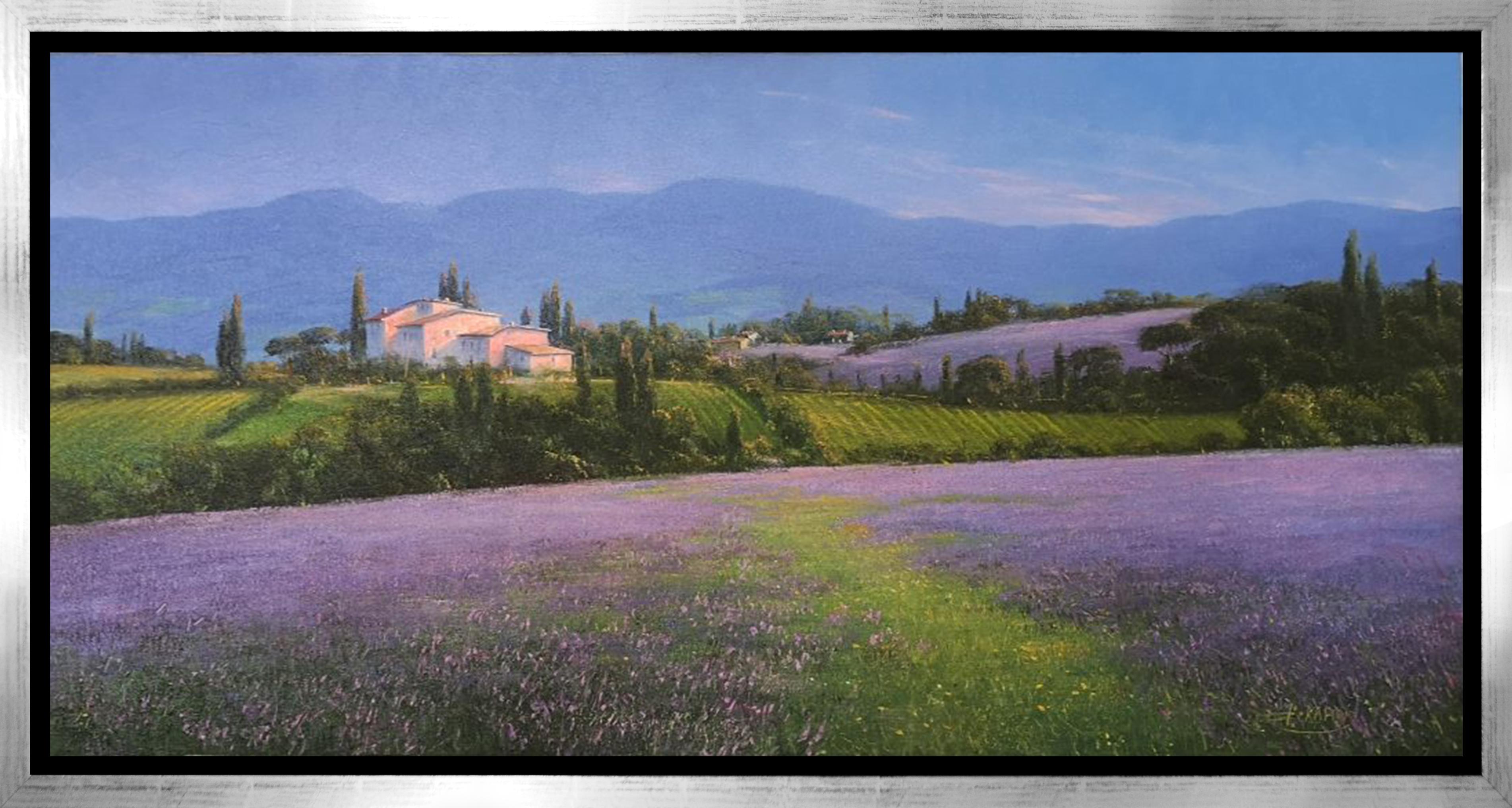 Detlef Rahn - Toskana / Lavendelfelder , 7840-006-184