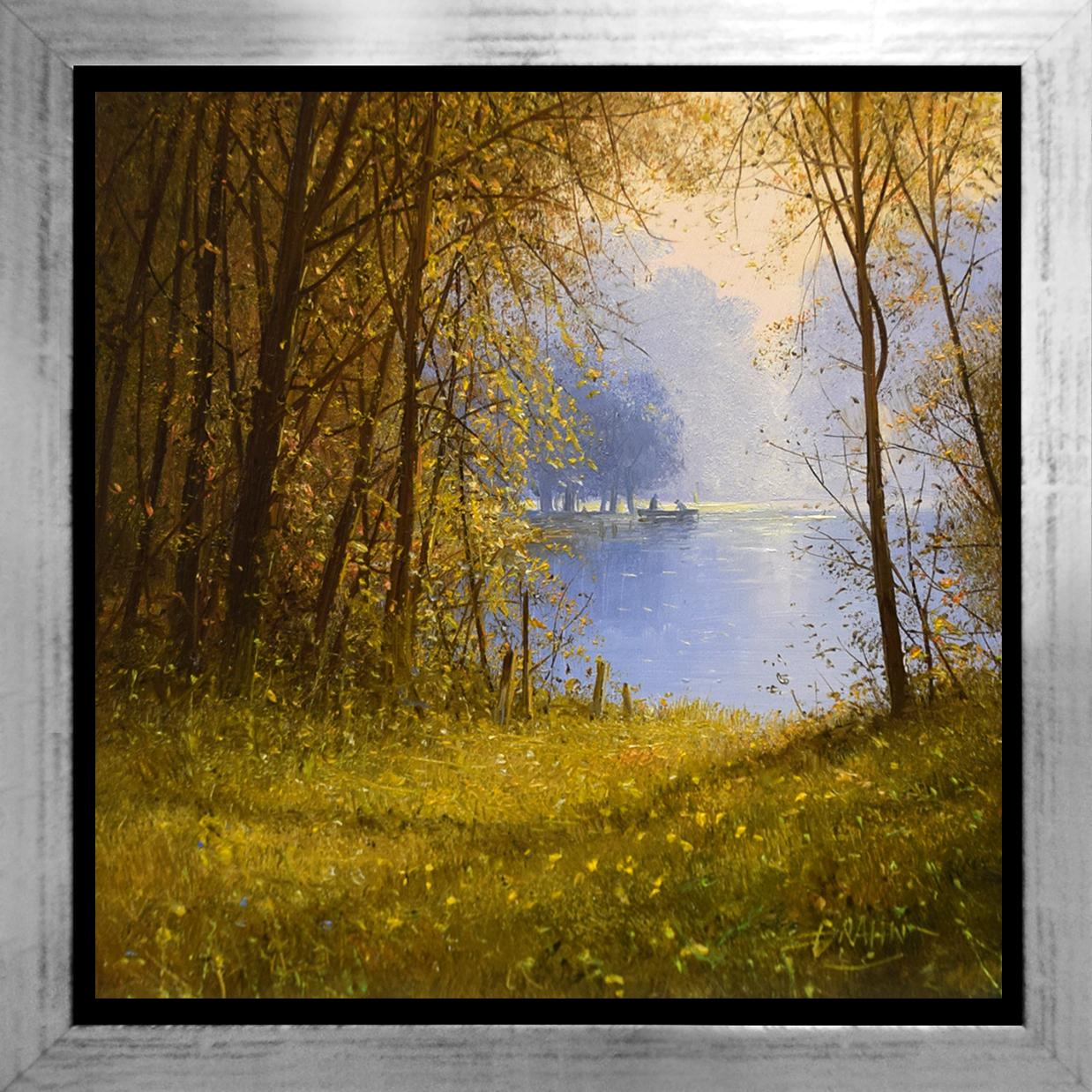 Detlef Rahn - Angler im Herbst, Brandenburg , 7840-006-966