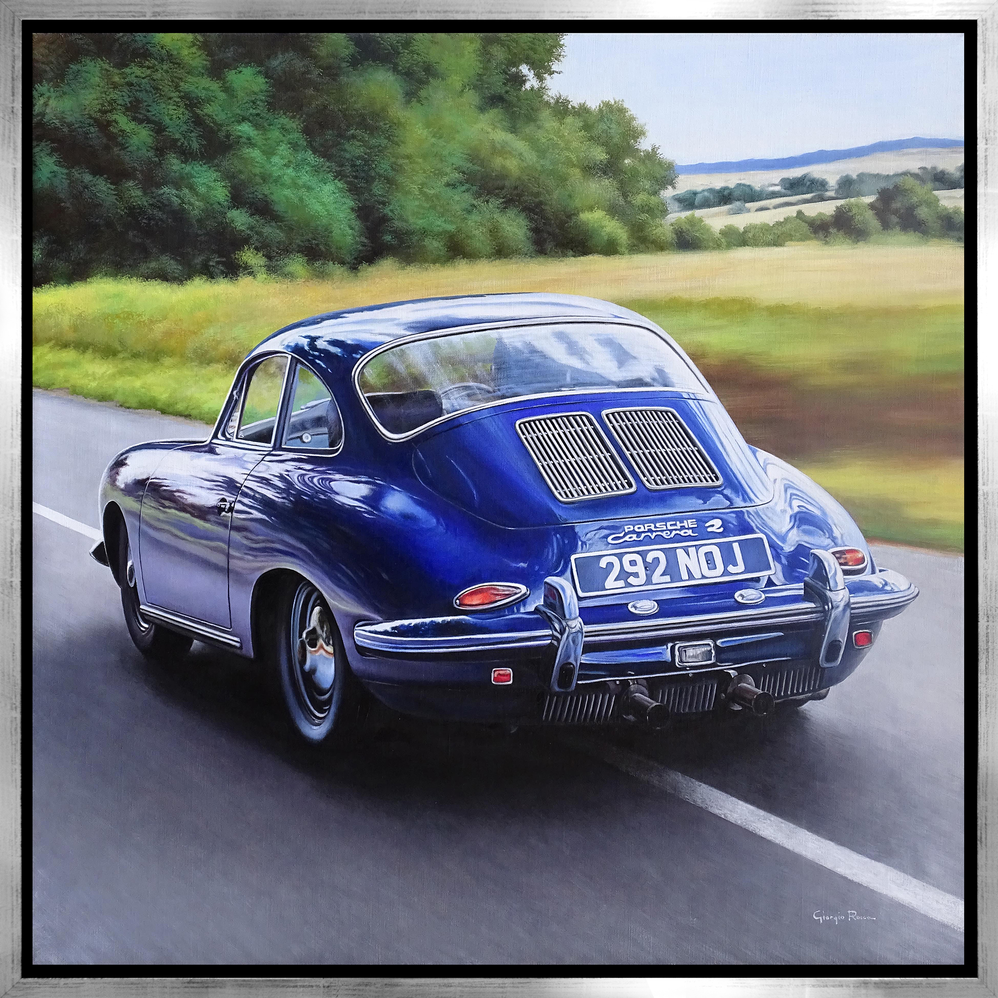 Giorgio Rocca - Porsche Blue , 7092-006-062