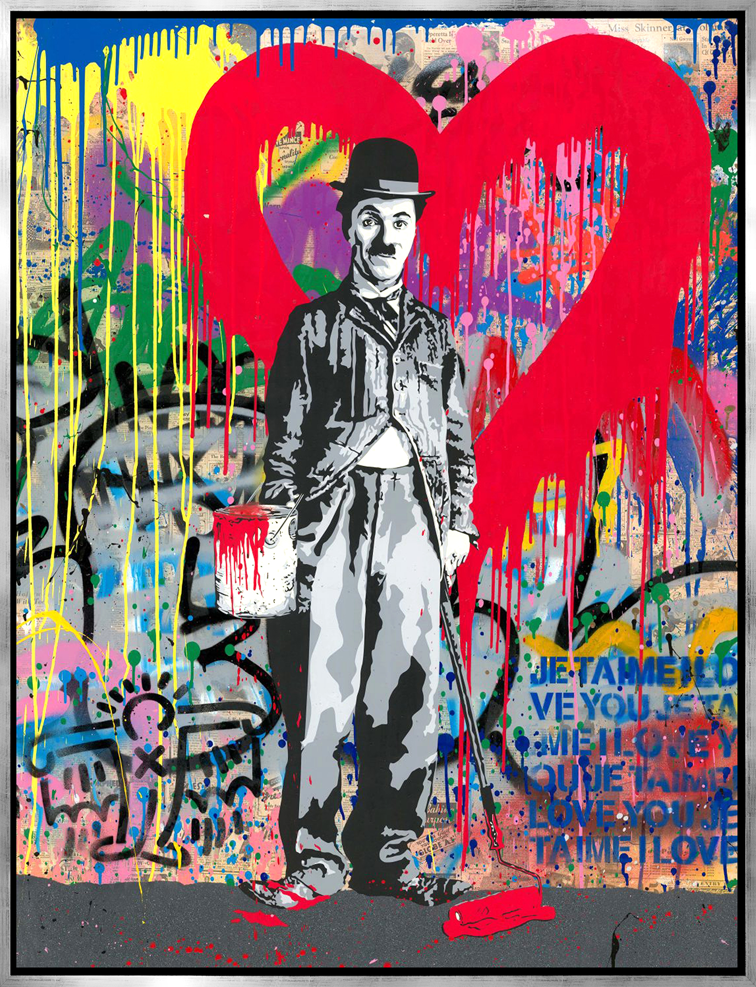 Mr. Brainwash - Chaplin , 9003-012-060
