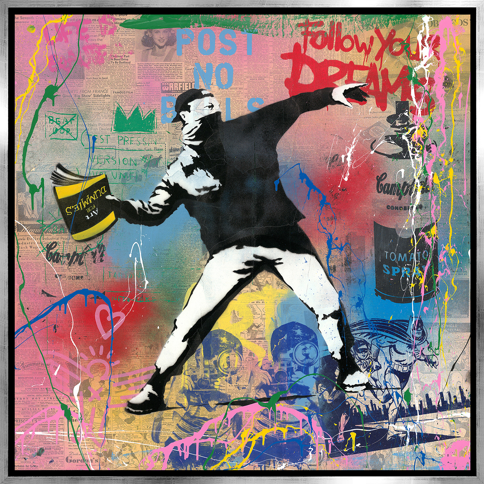 Mr. Brainwash - Banksy Thrower , 9003-012-100