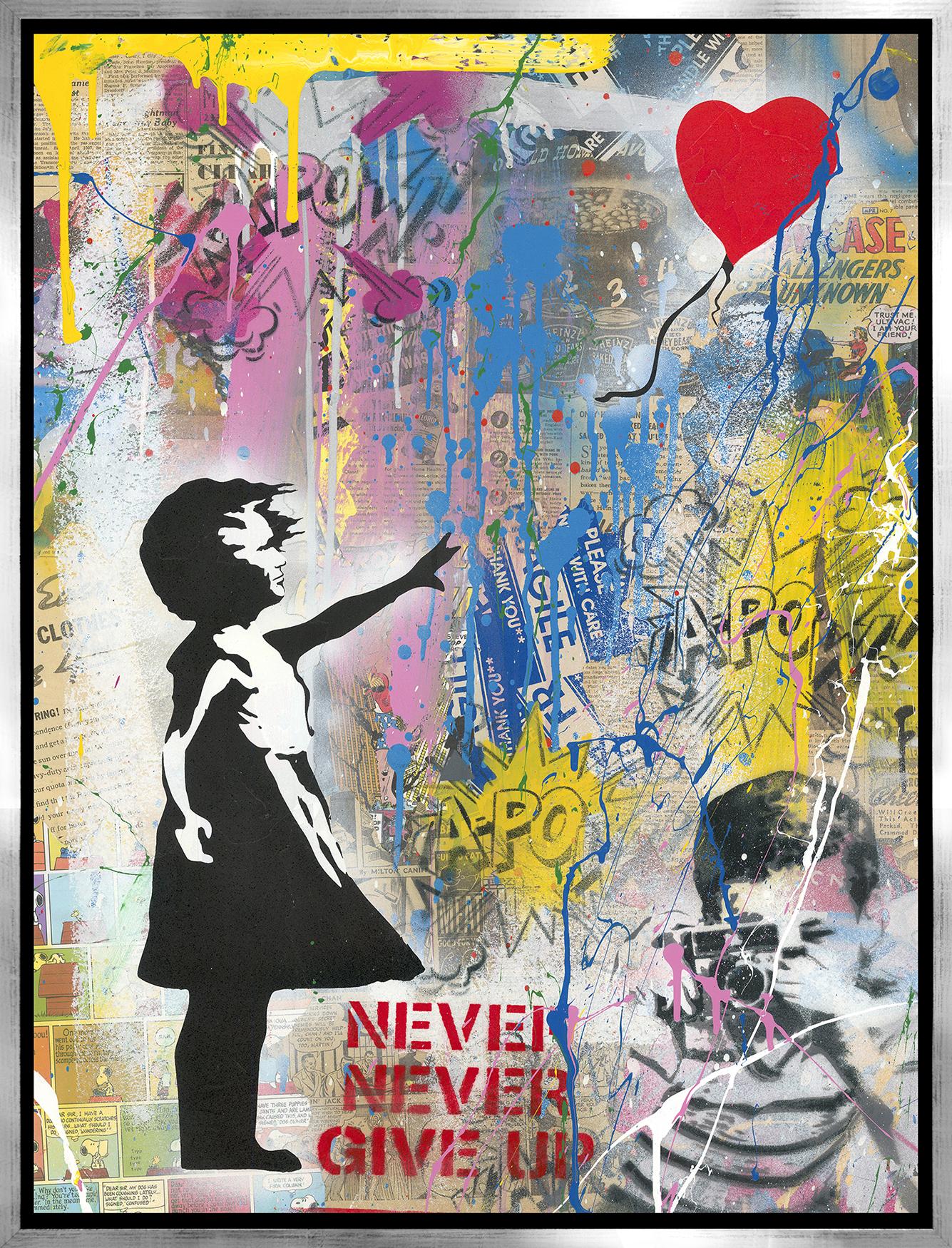 Mr. Brainwash - Balloon Girl , 9003-012-102