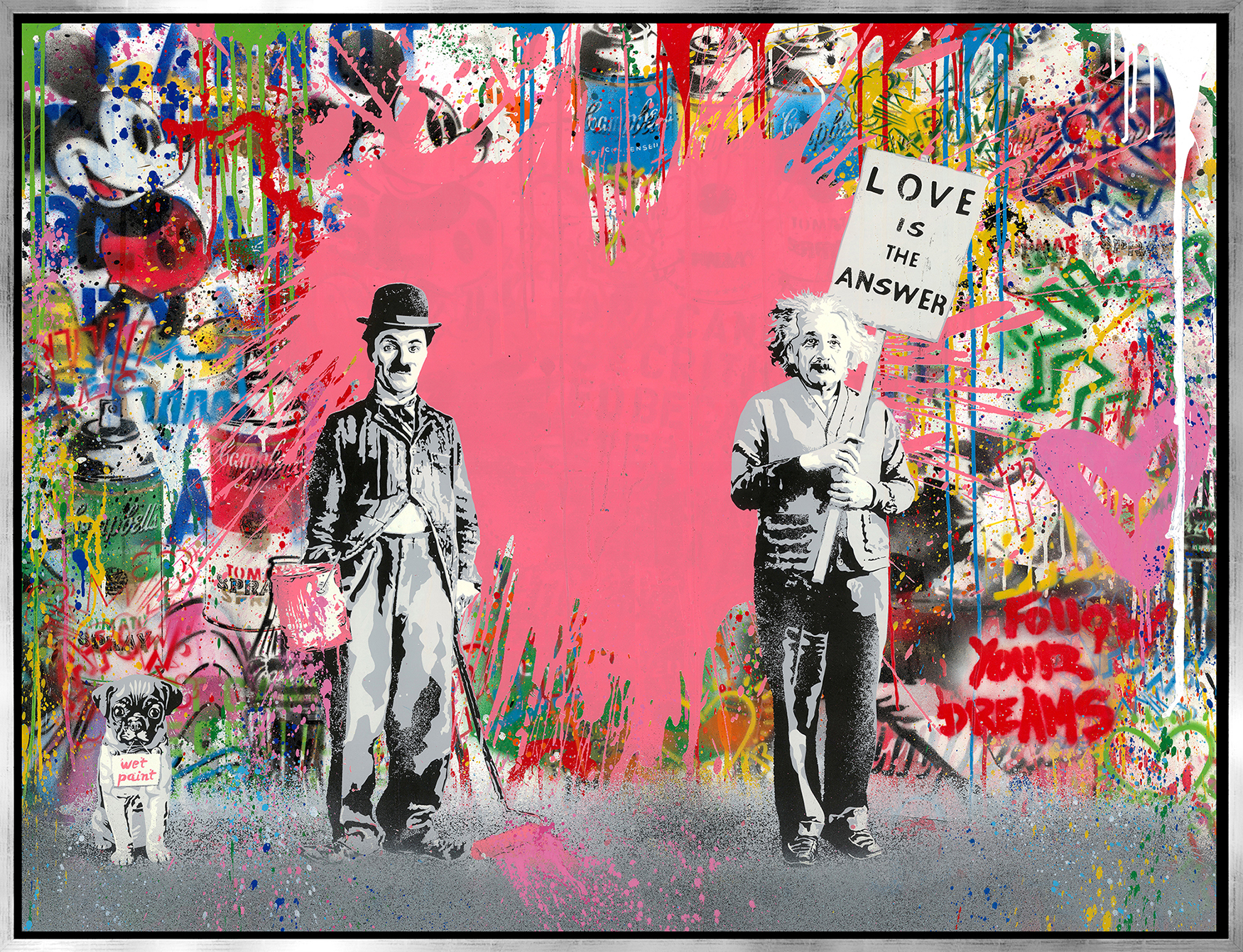 Mr. Brainwash - Juxtapose , 9003-012-103