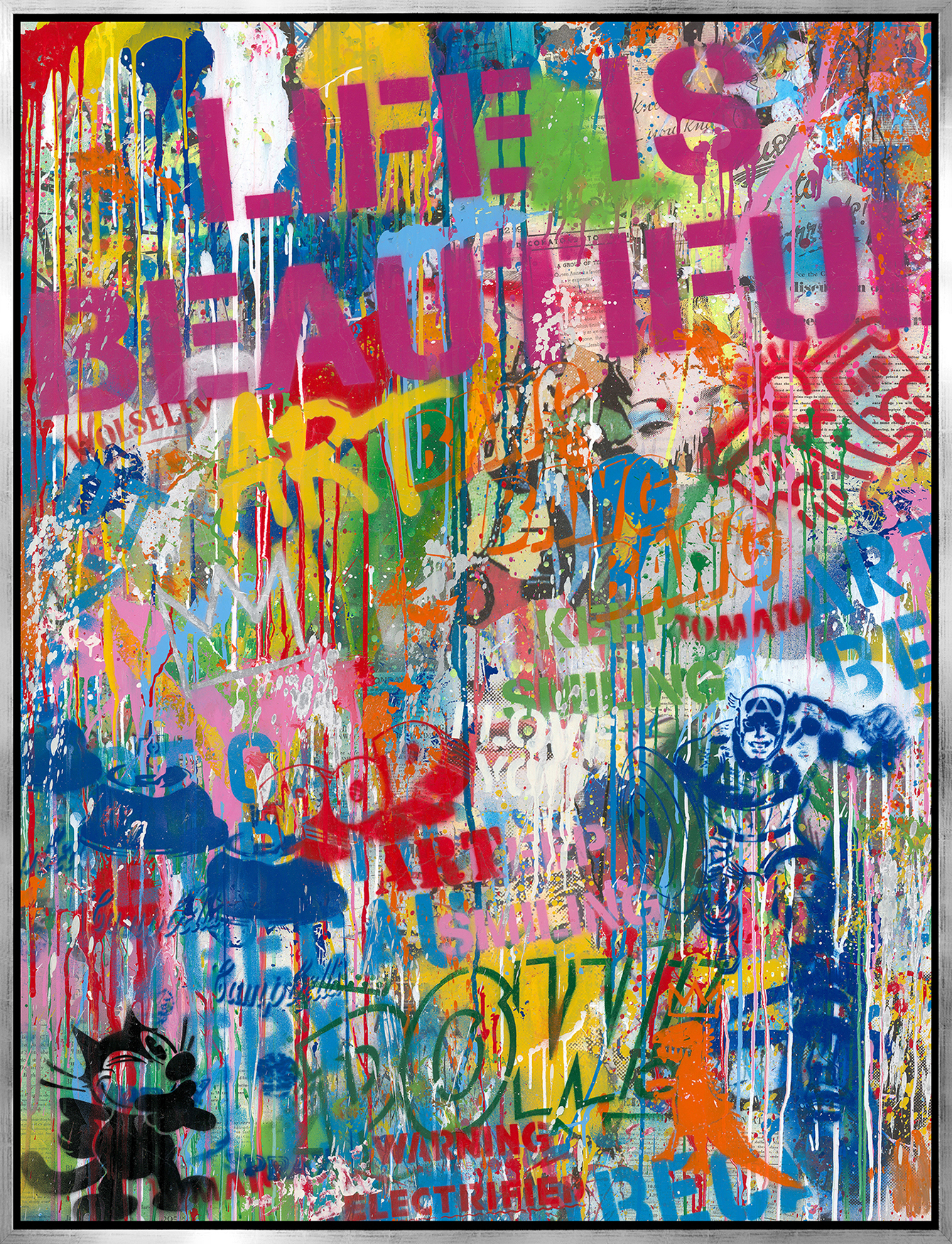 Mr. Brainwash - Street Wall , 9003-012-105