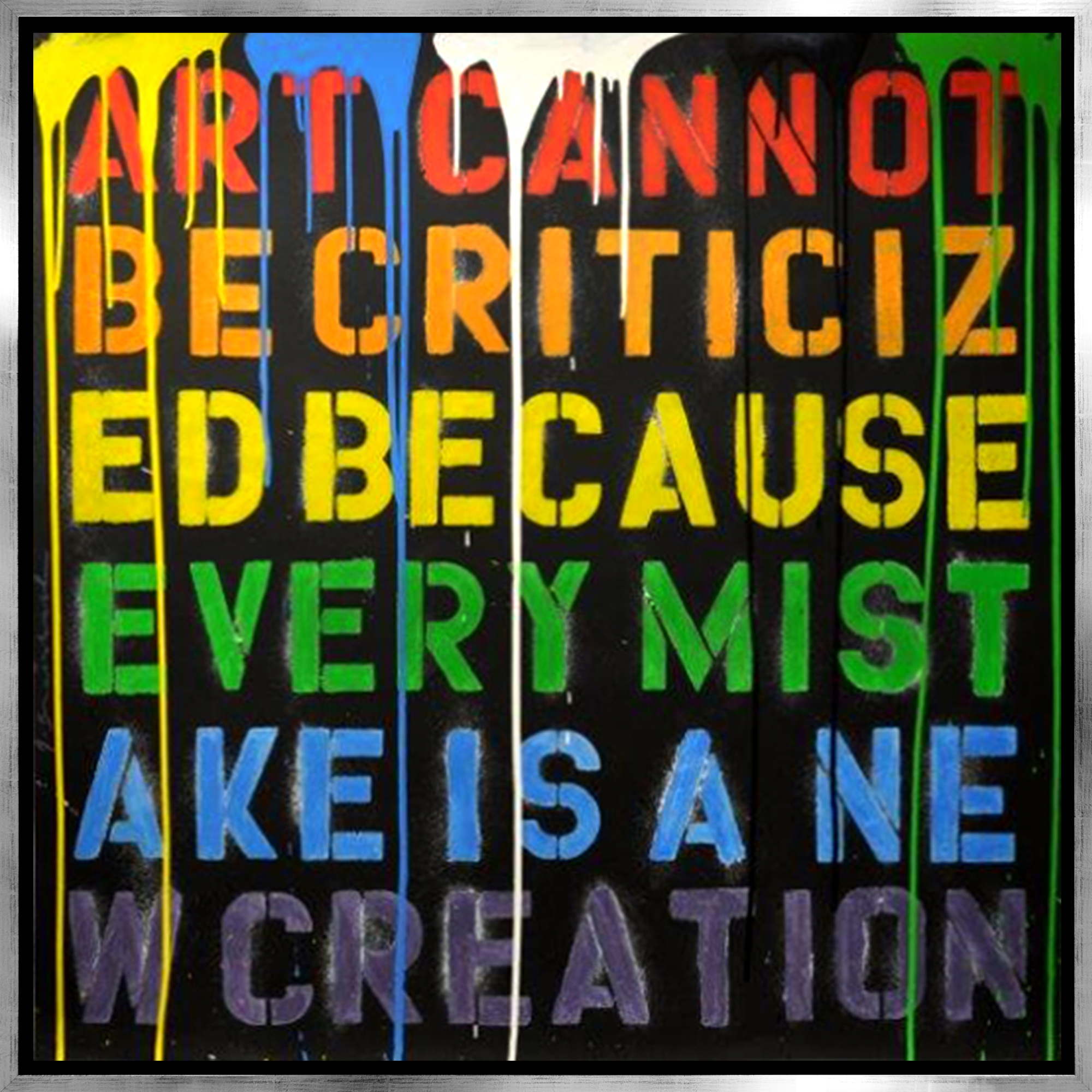 Mr. Brainwash - Keep creating , 9003-012-020