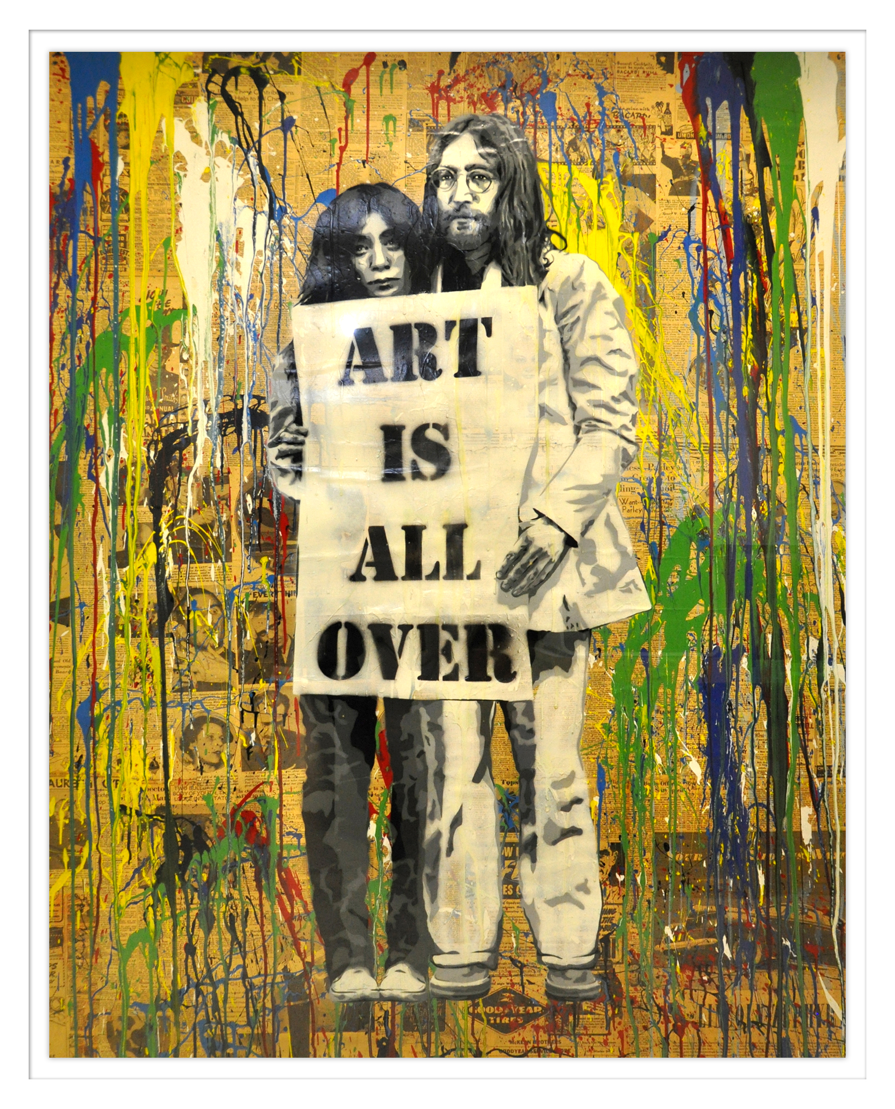 Mr. Brainwash - Art is all over , 9003-012-059