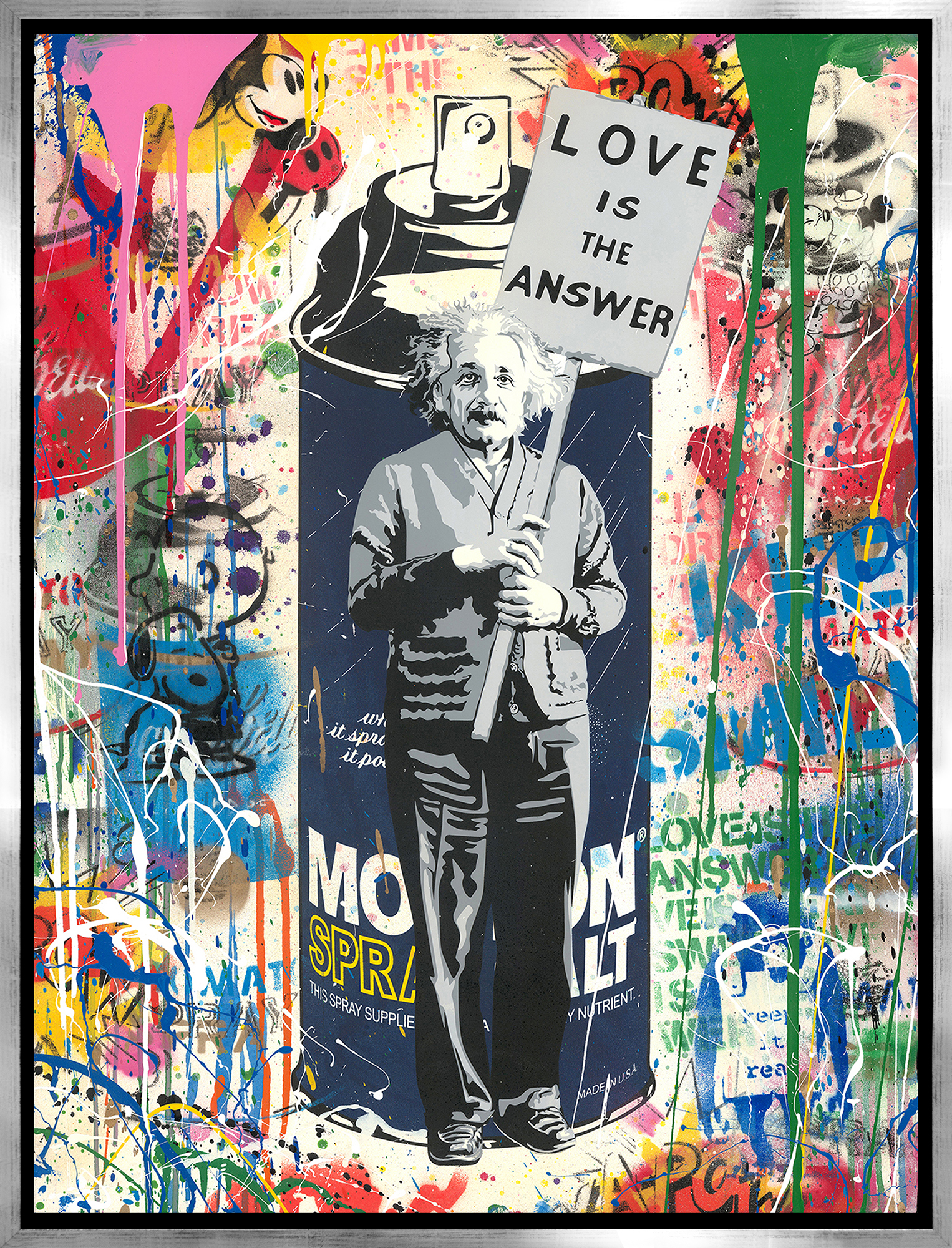 Mr. Brainwash - Einstein , 9003-012-094