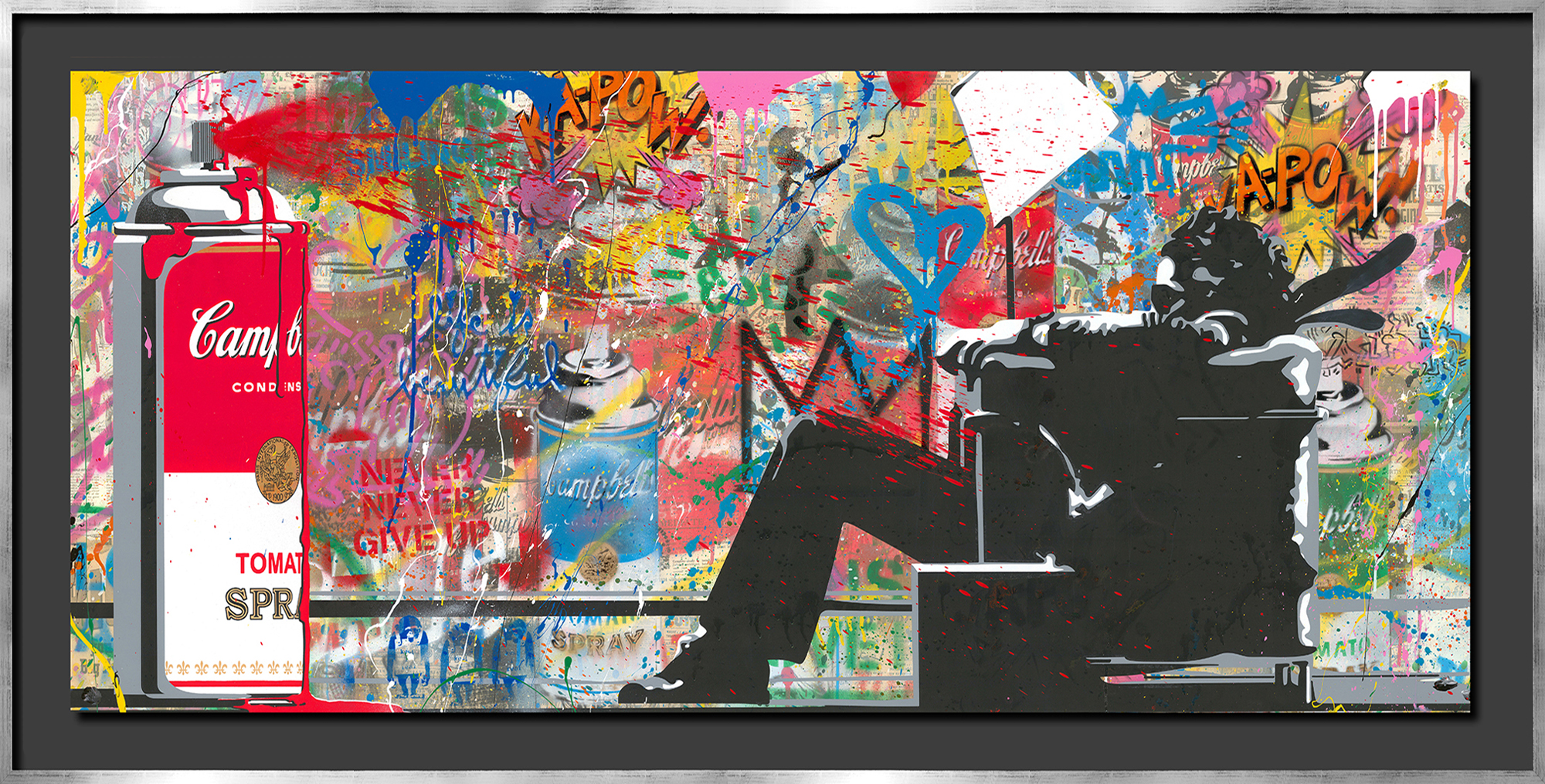 Mr. Brainwash - Man in Chair I , 9003-012-097