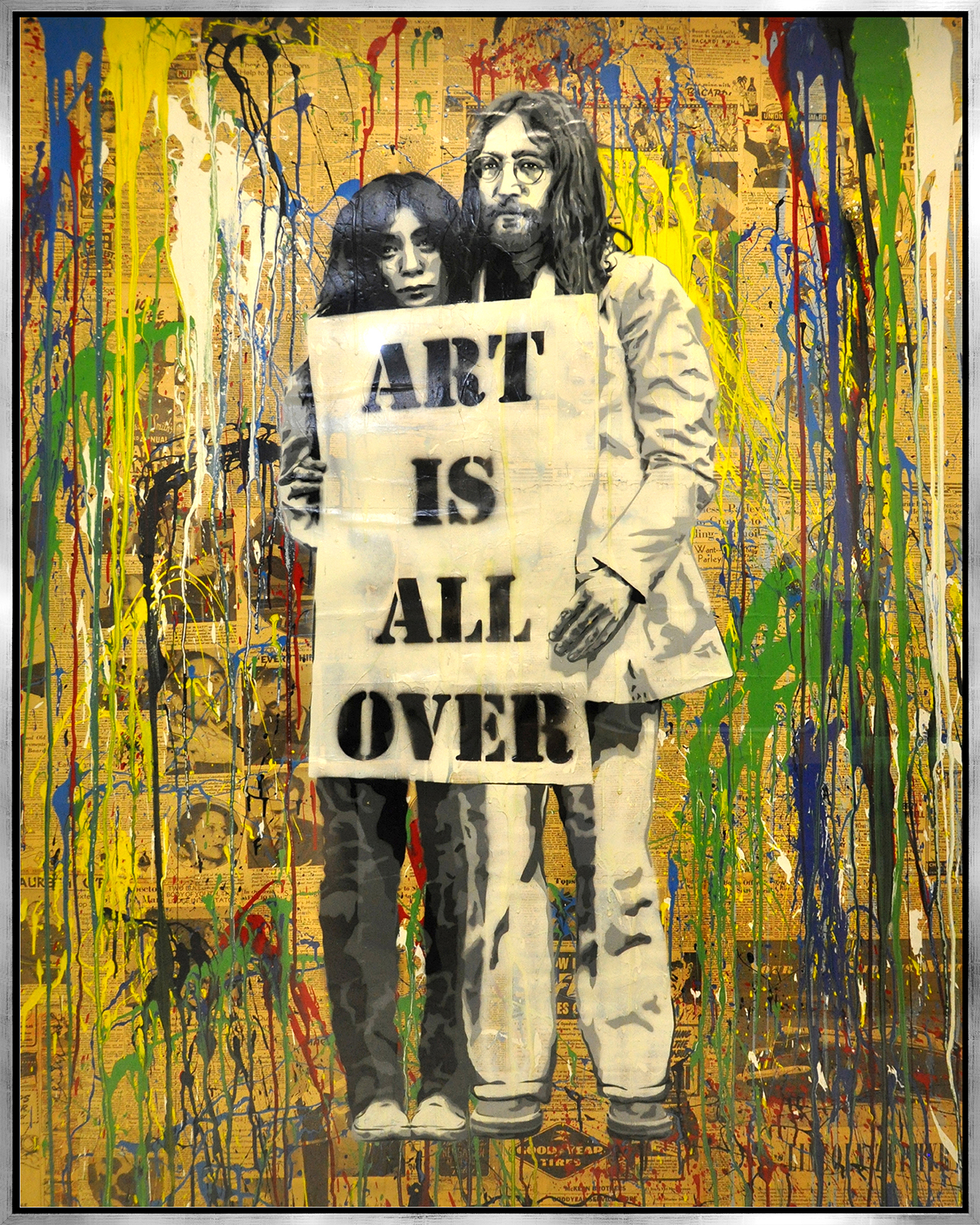 Mr. Brainwash - Art is all over , 9003-012-059