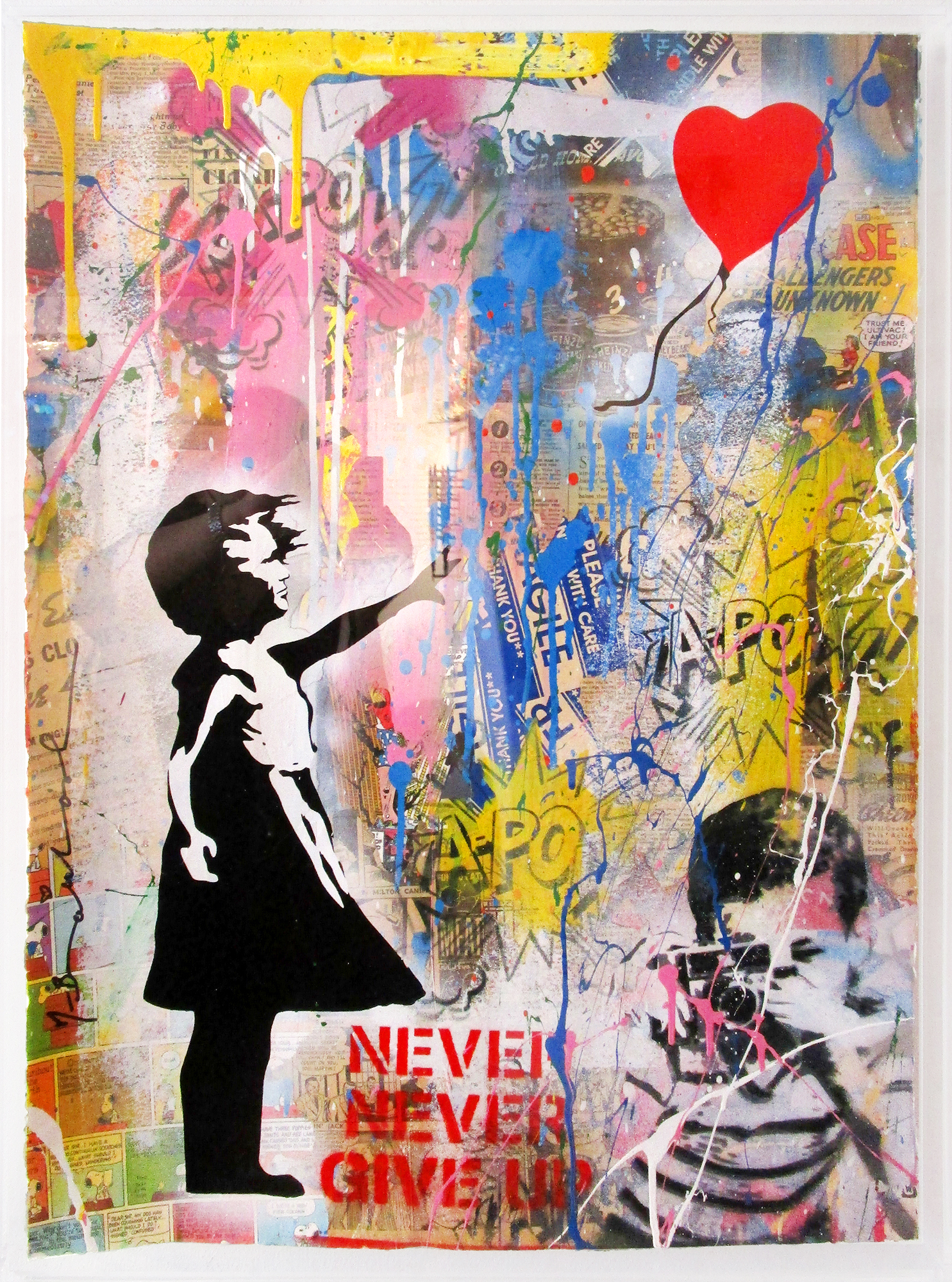 Mr. Brainwash - Balloon Girl , 9003-012-102