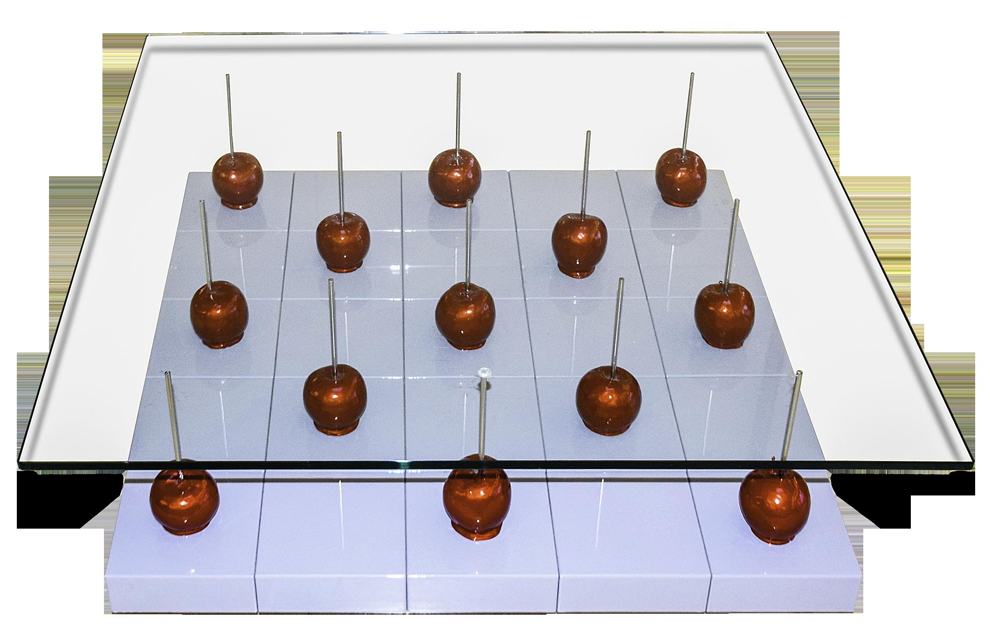 Harry Mensing - Tisch mit 13 Äpfeln , 7500-012-031