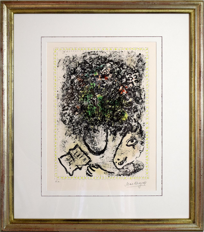 Marc Chagall - Fleur d'Art , 0610-008-185