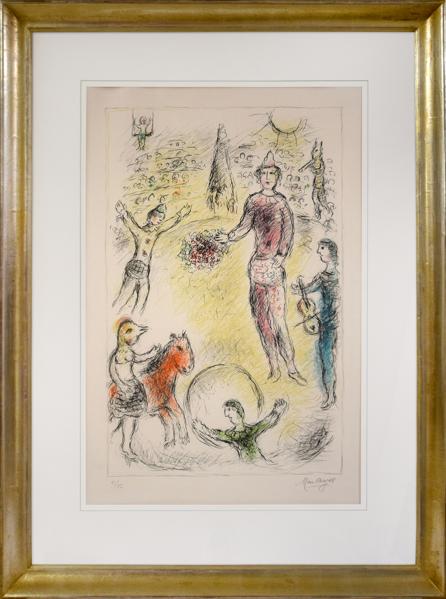 Marc Chagall - Les Clowns musiciens , 0610-008-364