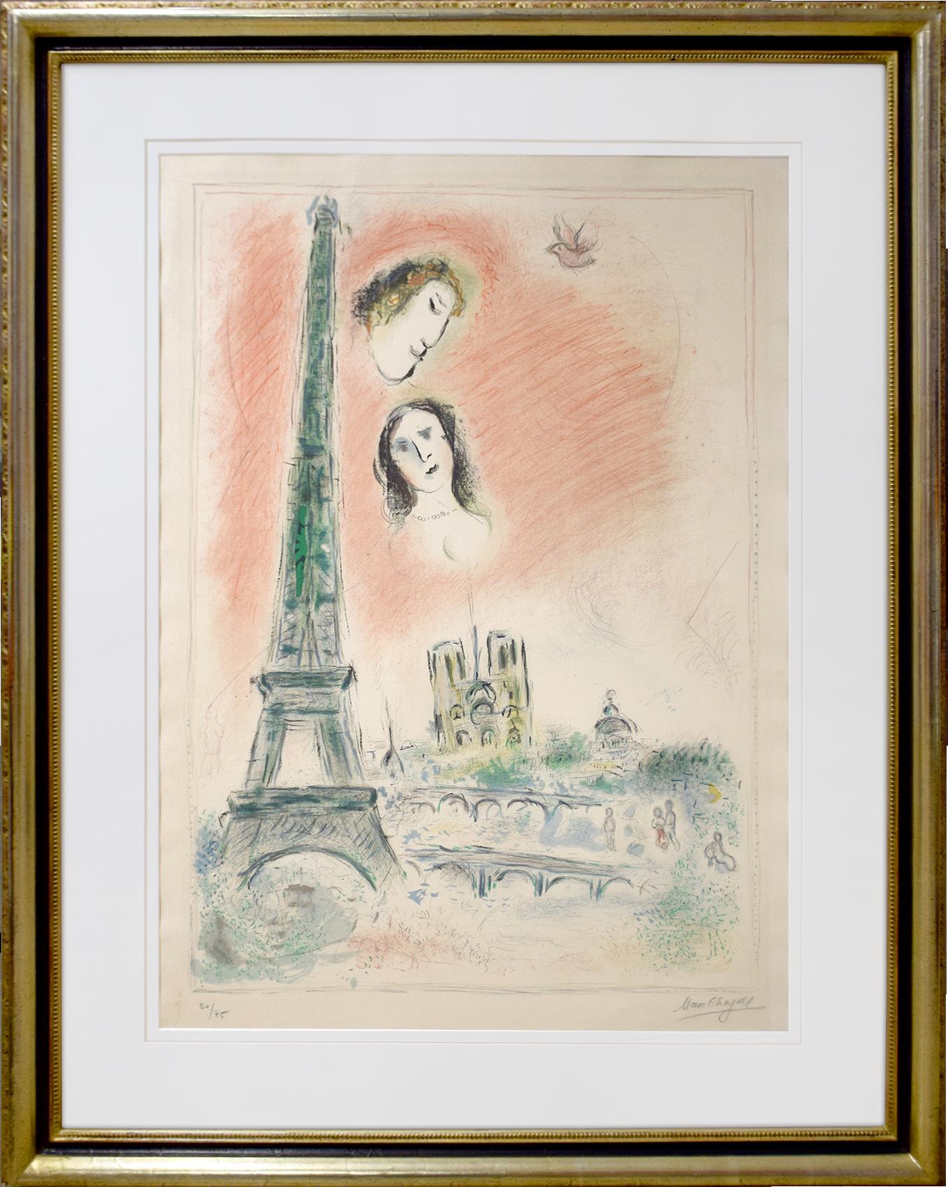 Marc Chagall - Der Traum von Paris , 0610-008-410