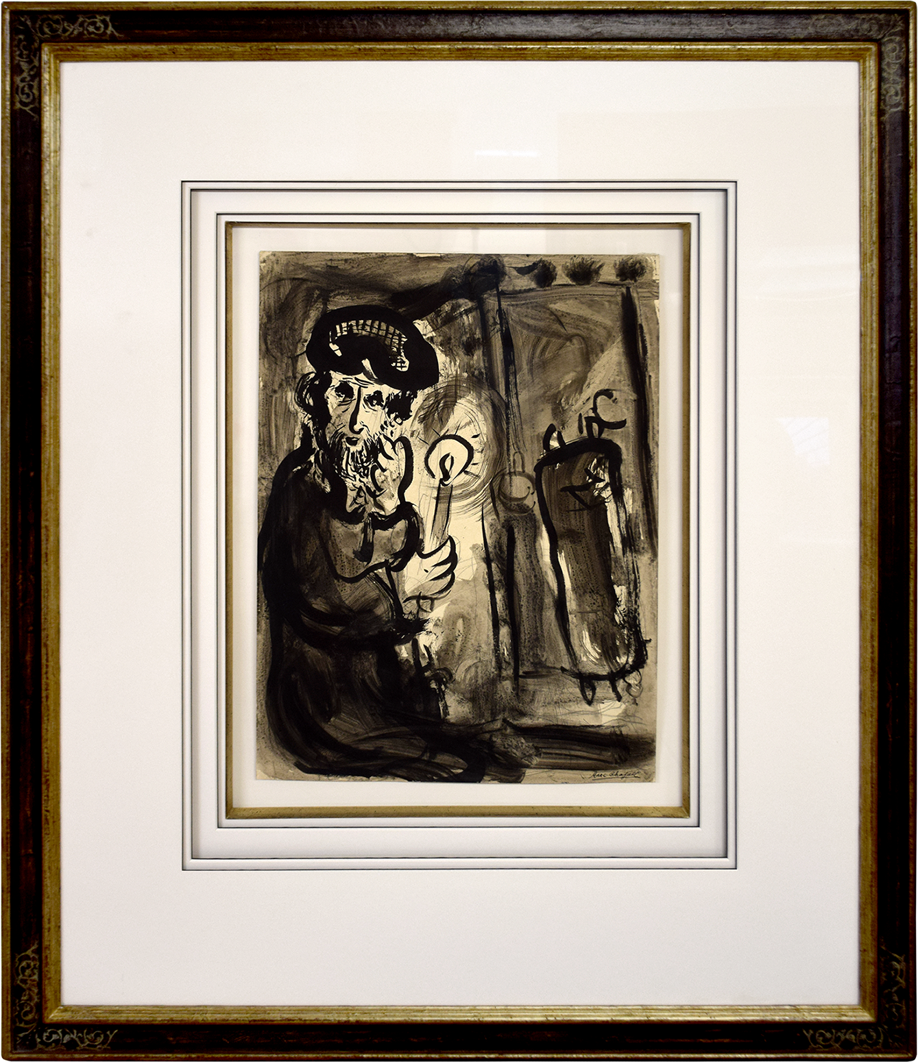 Marc Chagall - Der Rabbiner , 0610-012-007
