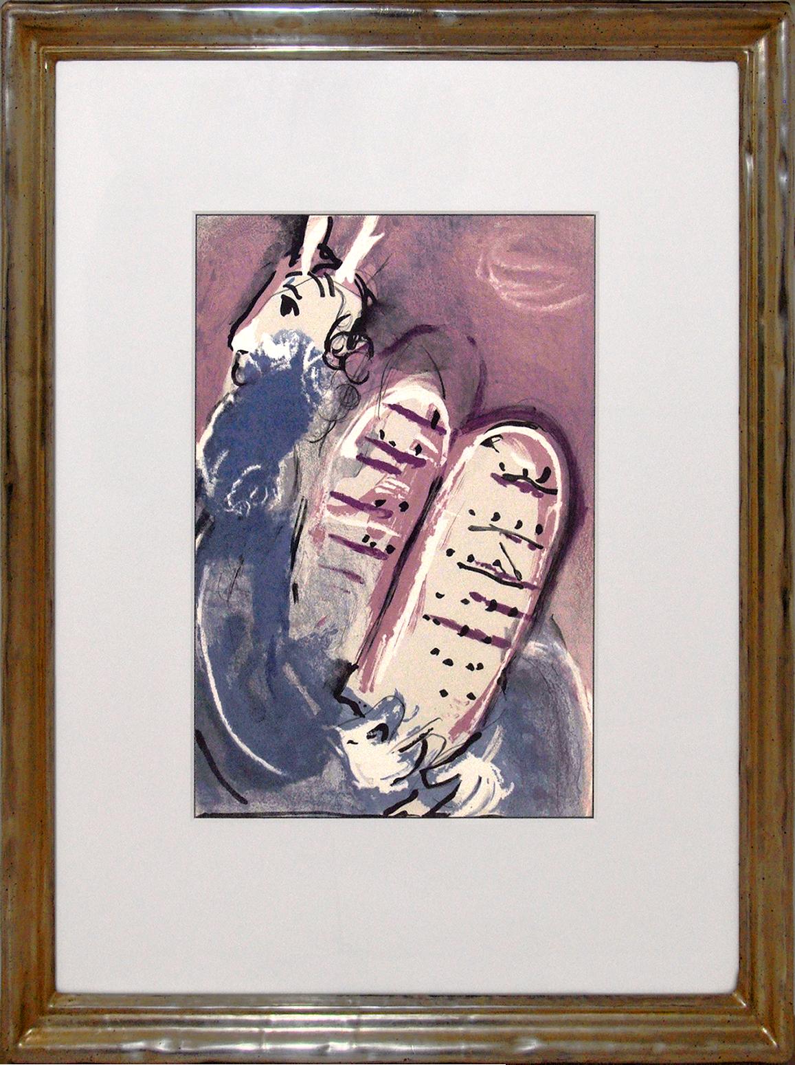 """Marc Chagall - """"Moses"""" aus """"La Bibel"""" , 0610-008-109"""