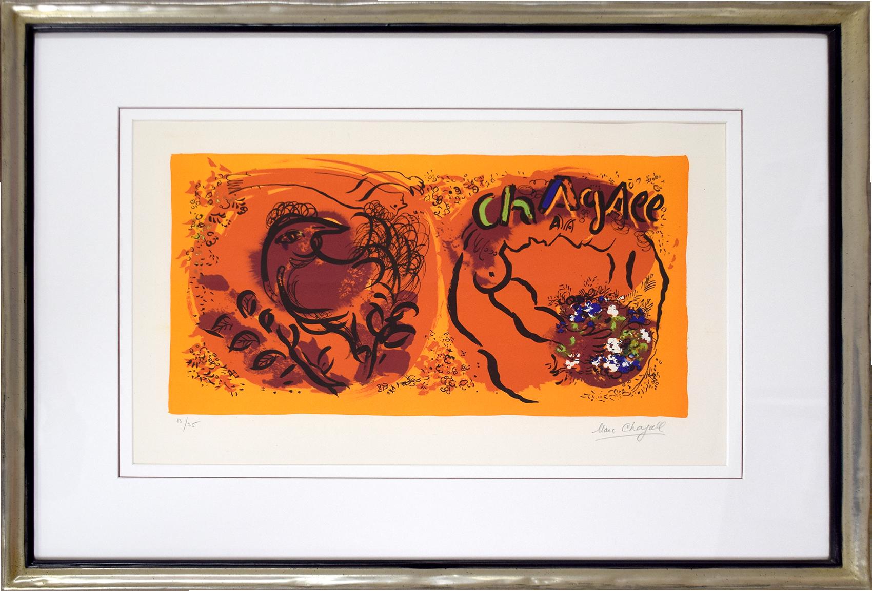 Marc Chagall - Couverture Jaquette , 0610-008-485