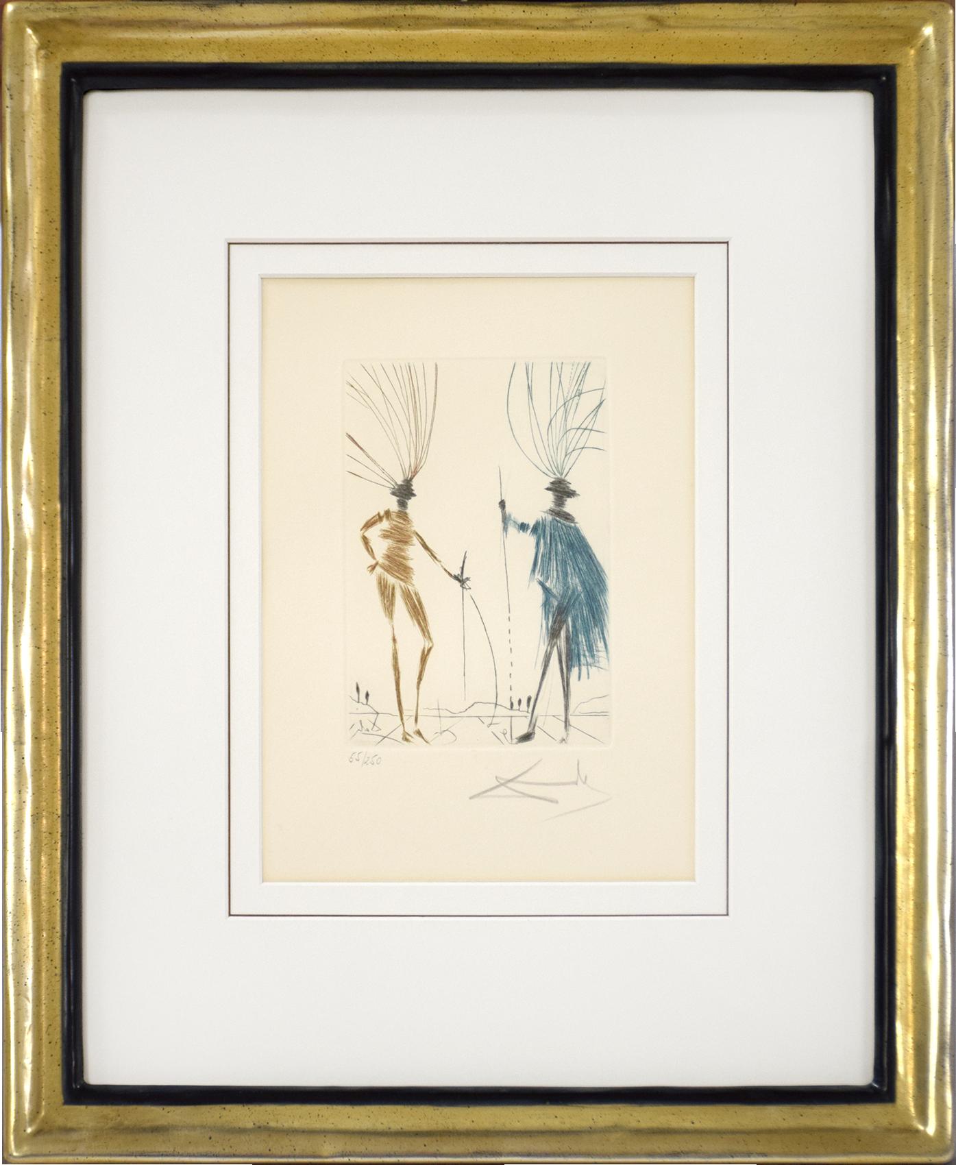 Salvador Dalí - The two Gentleman of Verona , 0611-008-525