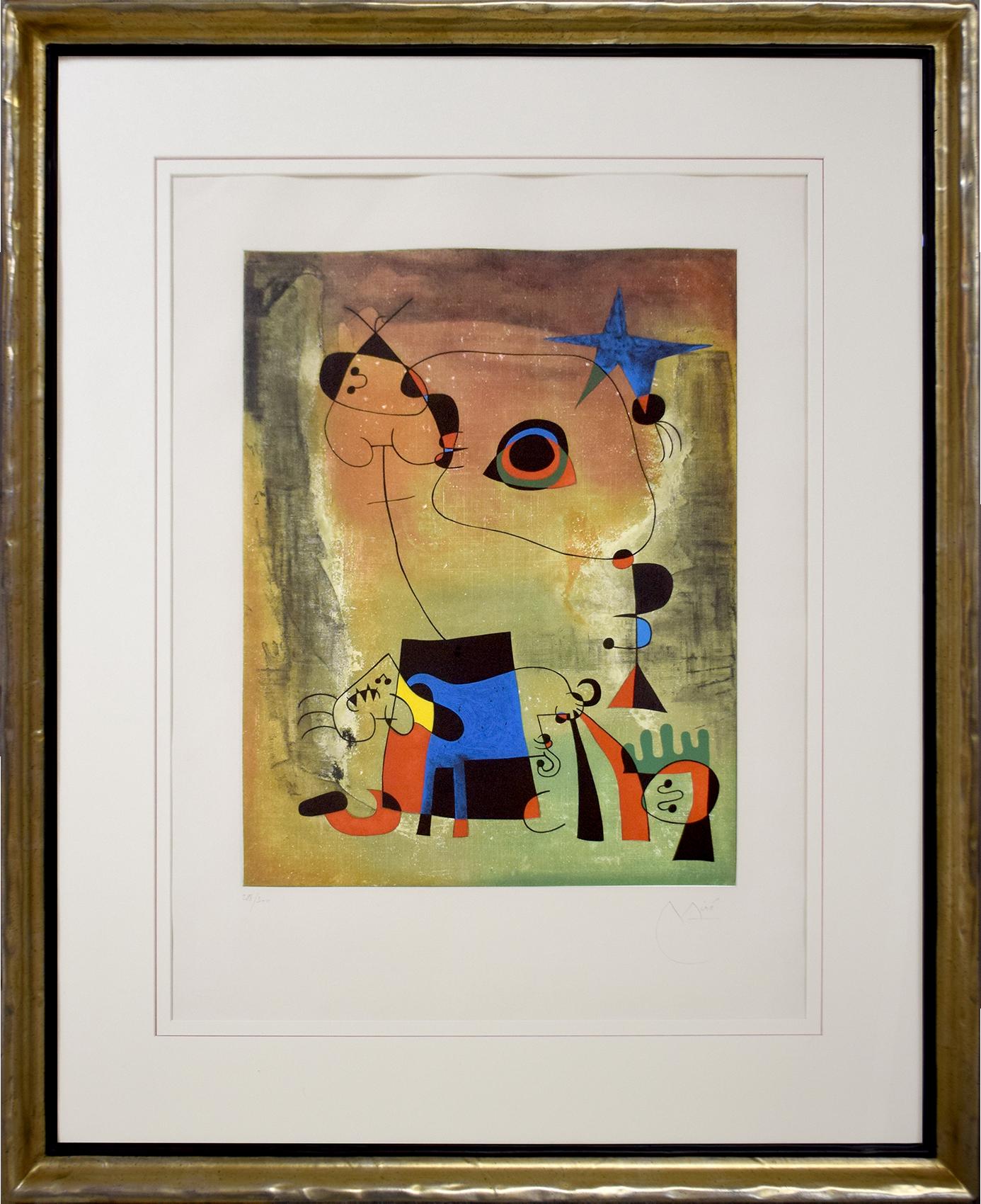 Joan Miró - Le chien bleu , 0612-008-284