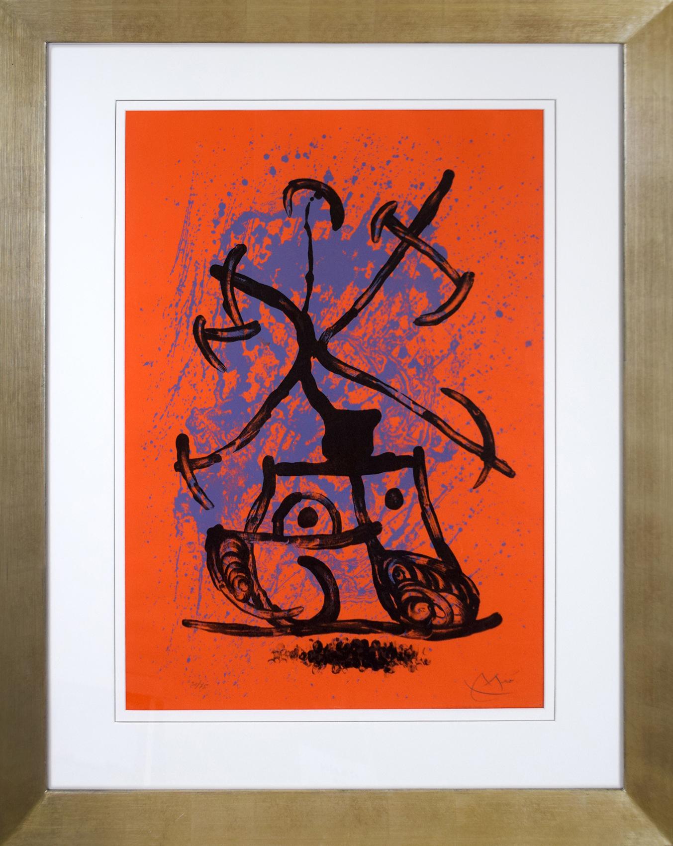 Joan Miró - L'entraineuse - Rouge , 0612-008-321